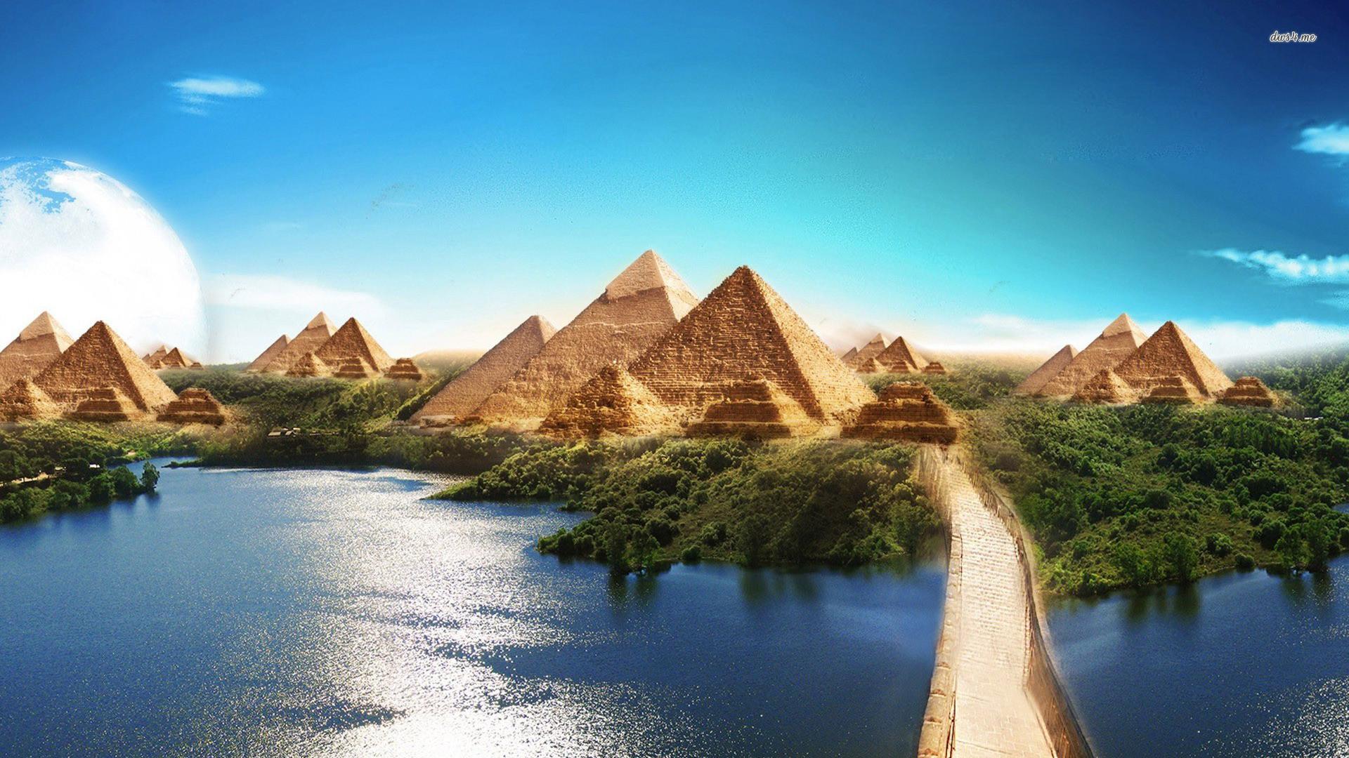 Giza Pyramids Wallpaper 49 Images