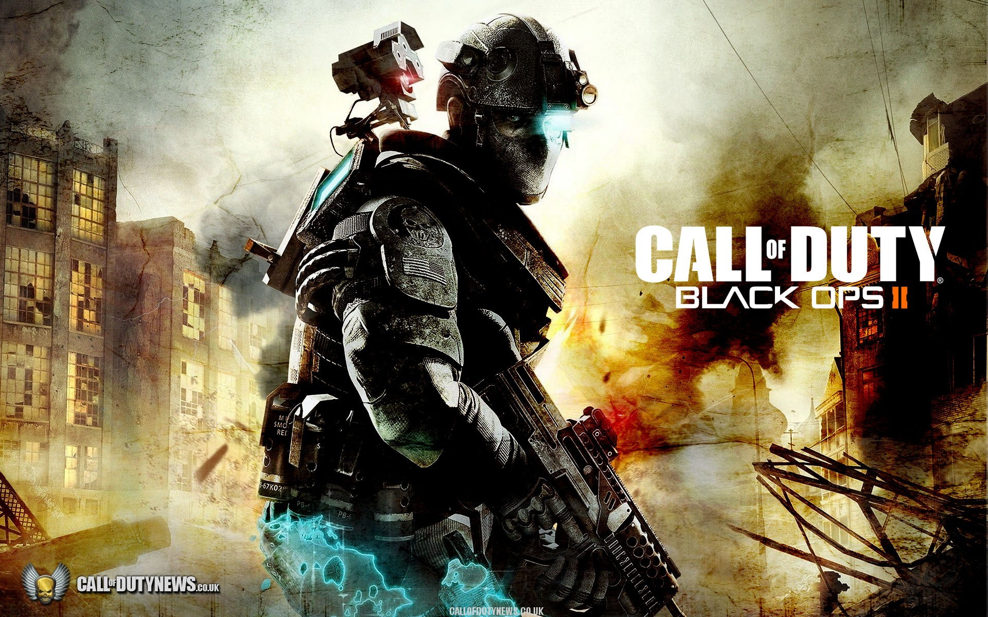 1920x1200 Call Of Duty Black Ops 2 Zombies Wallpaper