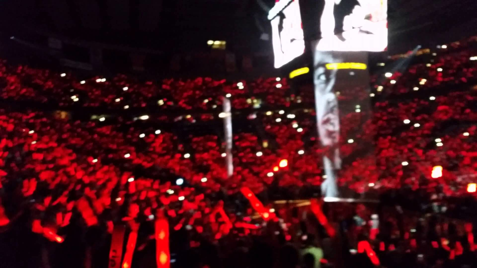 1920x1080 Portland Trail Blazers Game 6 Intro vs. Spurs (4K Samsung Galaxy 5 Video)