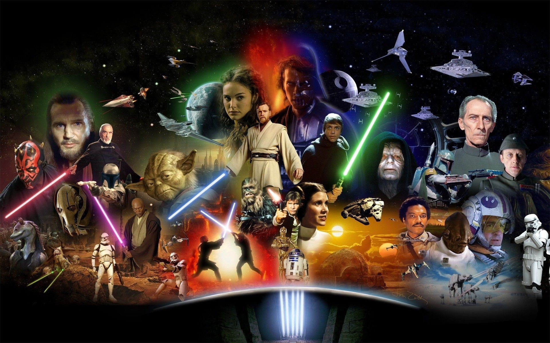 1920x1200 Disney Will Not Include Any STAR WARS Films From Before 2019 to Their  Streaming Service