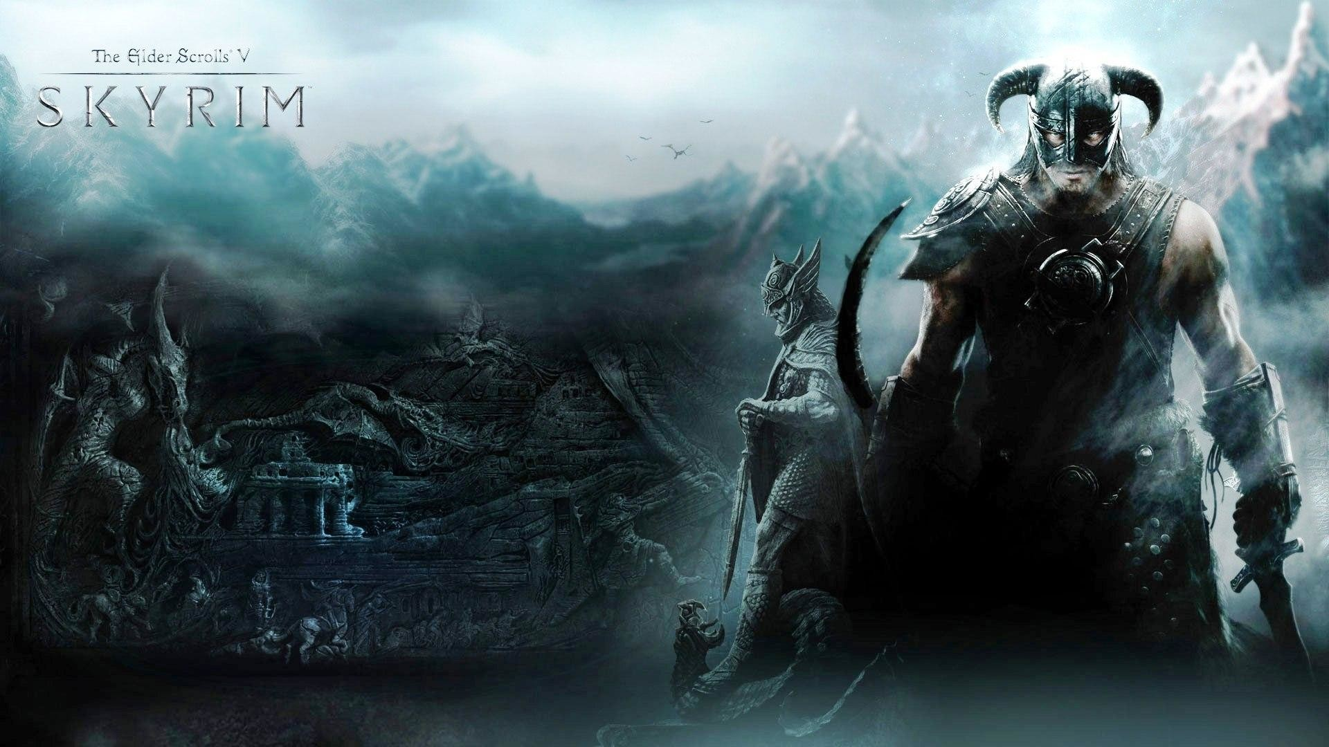 1920x1080 68 best free epic skyrim wallpapers wallpaperaccess .
