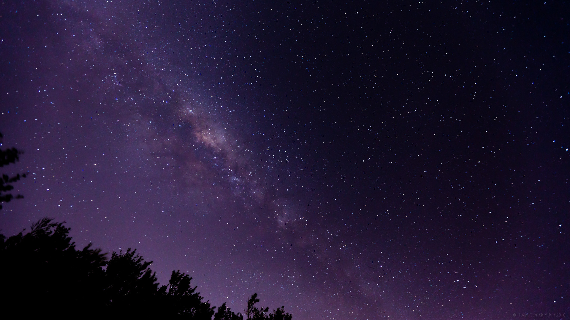 1920x1080 milky way from earth
