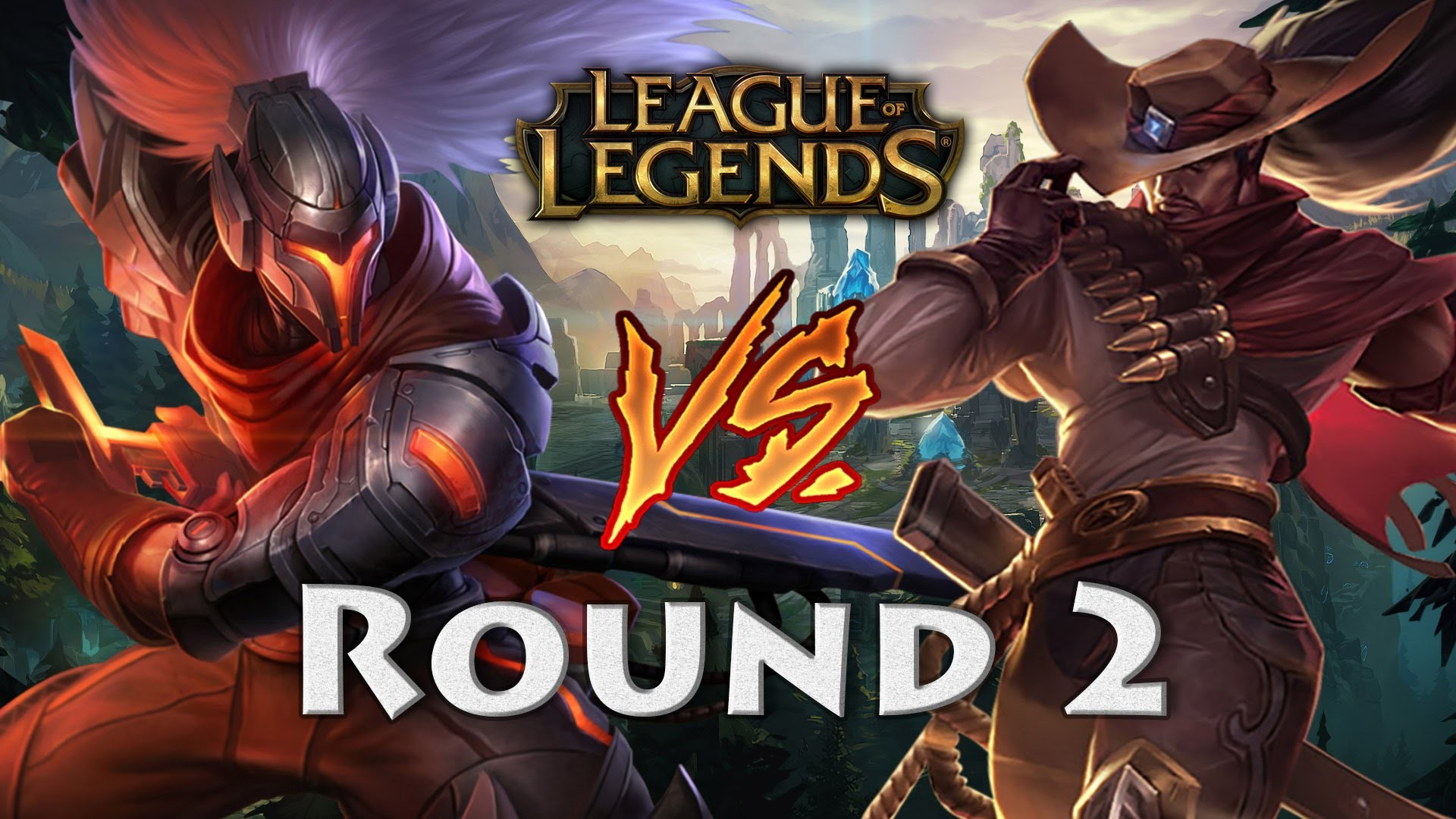 1920x1080 Project Yasuo vs High Noon Yasuo (Round 2) Mid League of Legends S6 -  YouTube