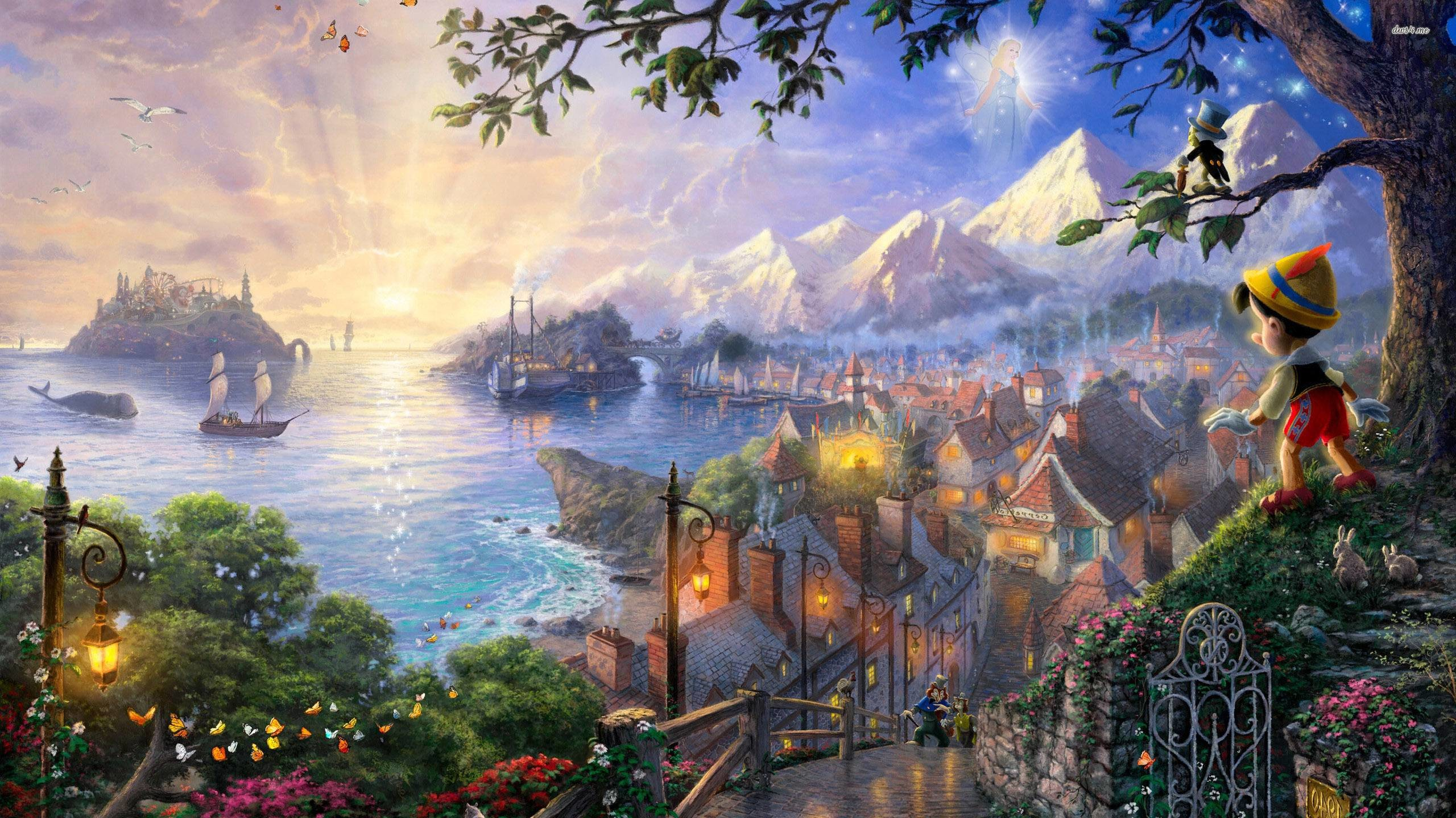 Disney Movies Hd Wallpapers: Pinocchio Wallpapers (71+ Images