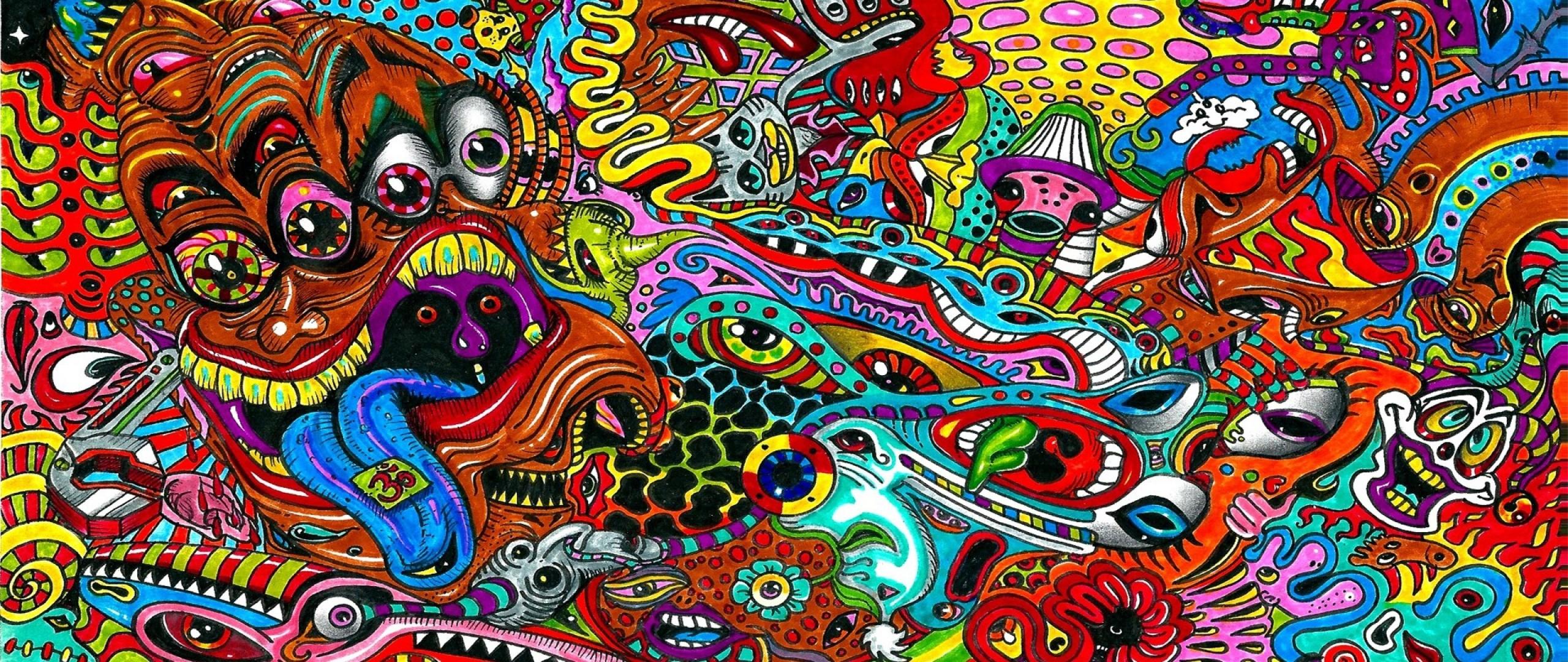 Trippy Wallpapers Hd: Psychedelic Desktop Wallpaper HD (68+ Images