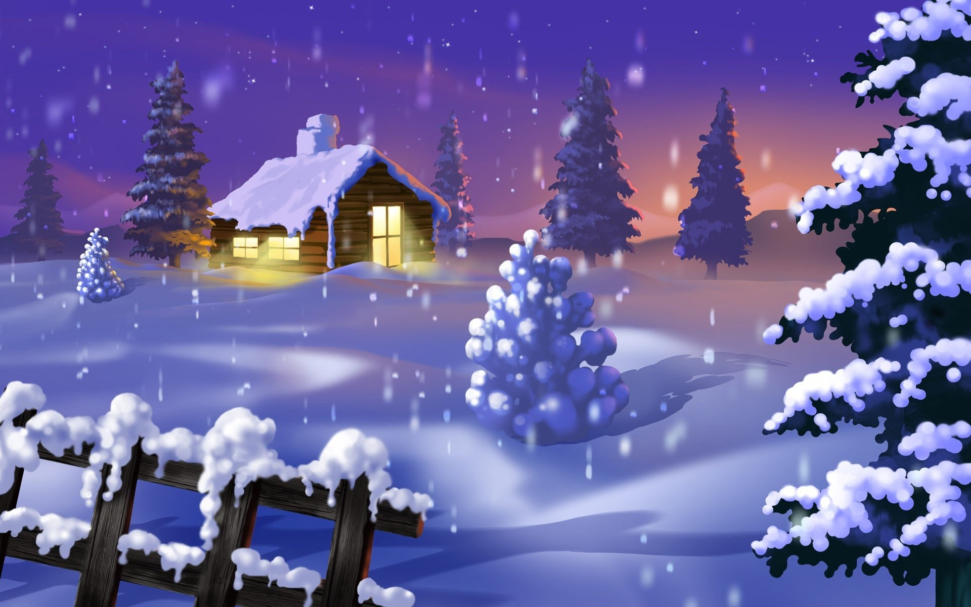 1920x1200 Top 7 Beautiful Winter Snow Live Wallpapers for Android