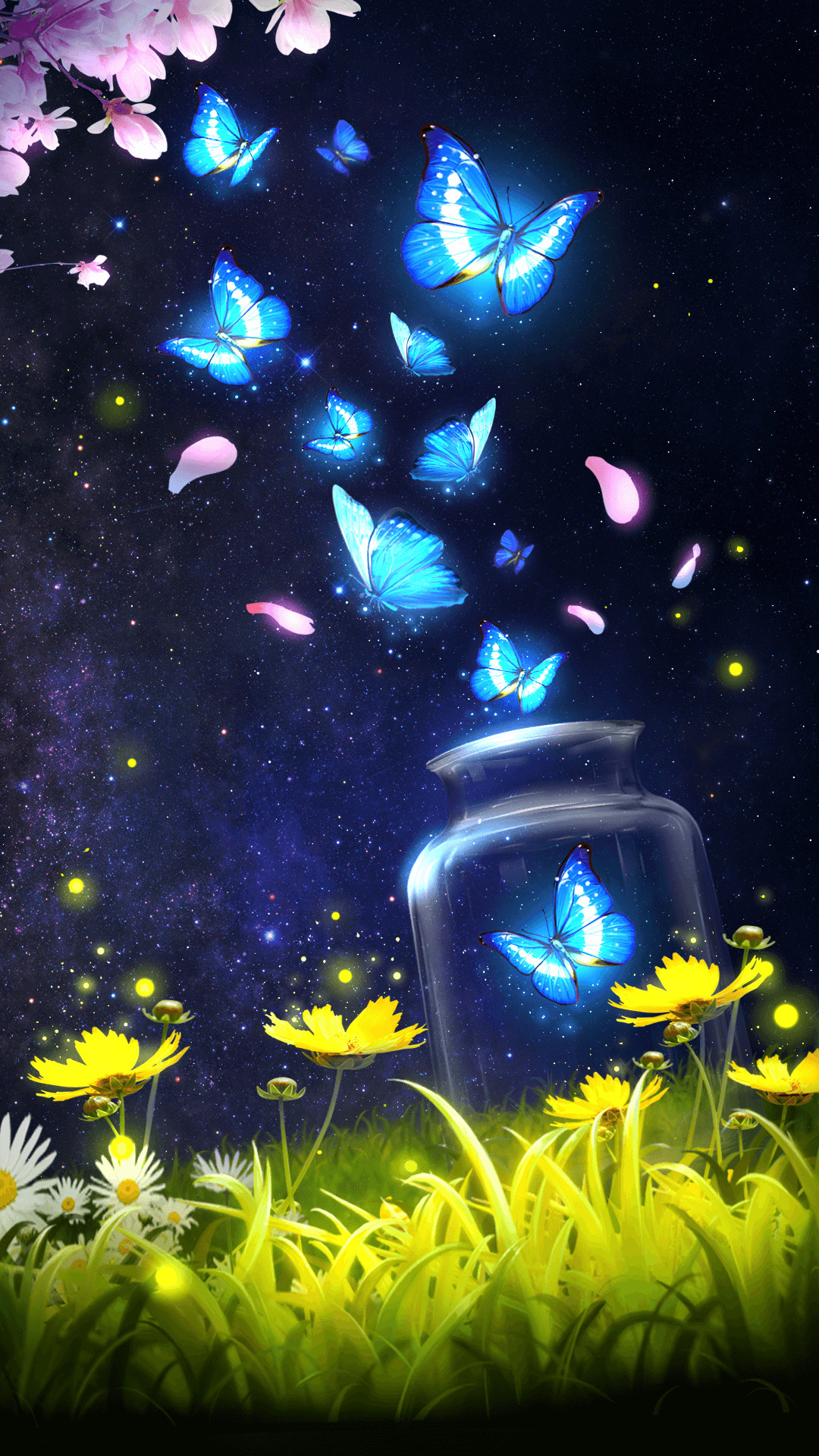 Blue Butterfly Background (52+ images)
