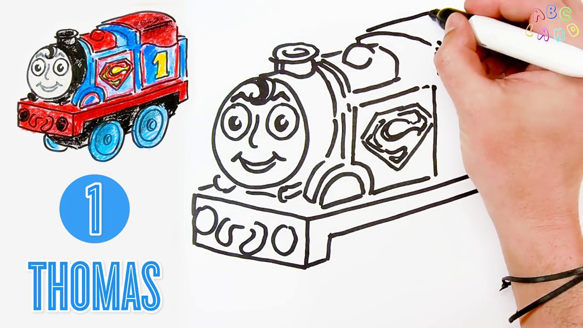 1920x1080  How To Draw Thomas The Train As Superman Thomas And Friends