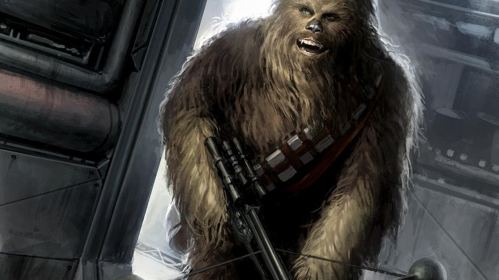 1920x1080 Title : star wars chewbacca artwork wallpaper | (124760) Dimension : 1920 x  1080. File Type : JPG/JPEG