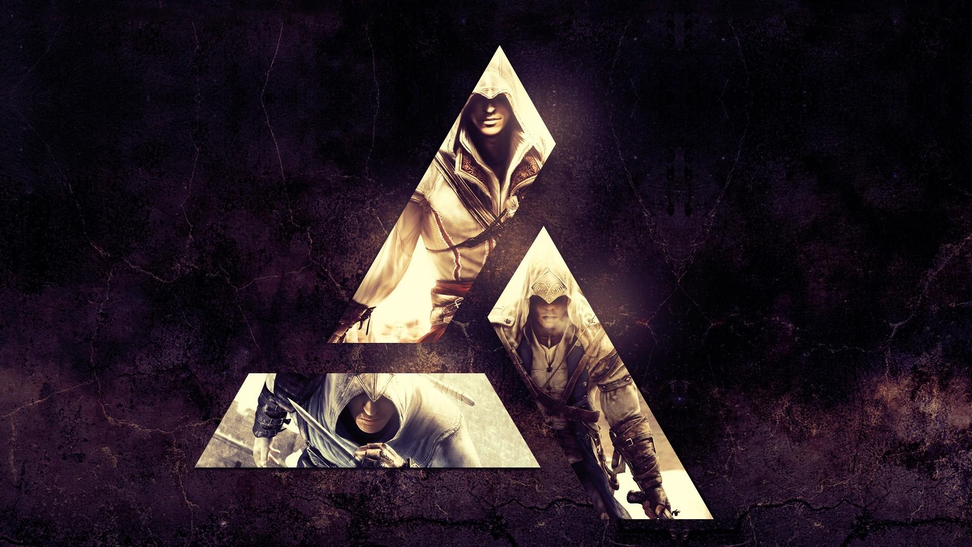 2048x1152 Wallpapers Assassins Creed Logo Emblem Fire Games Flame
