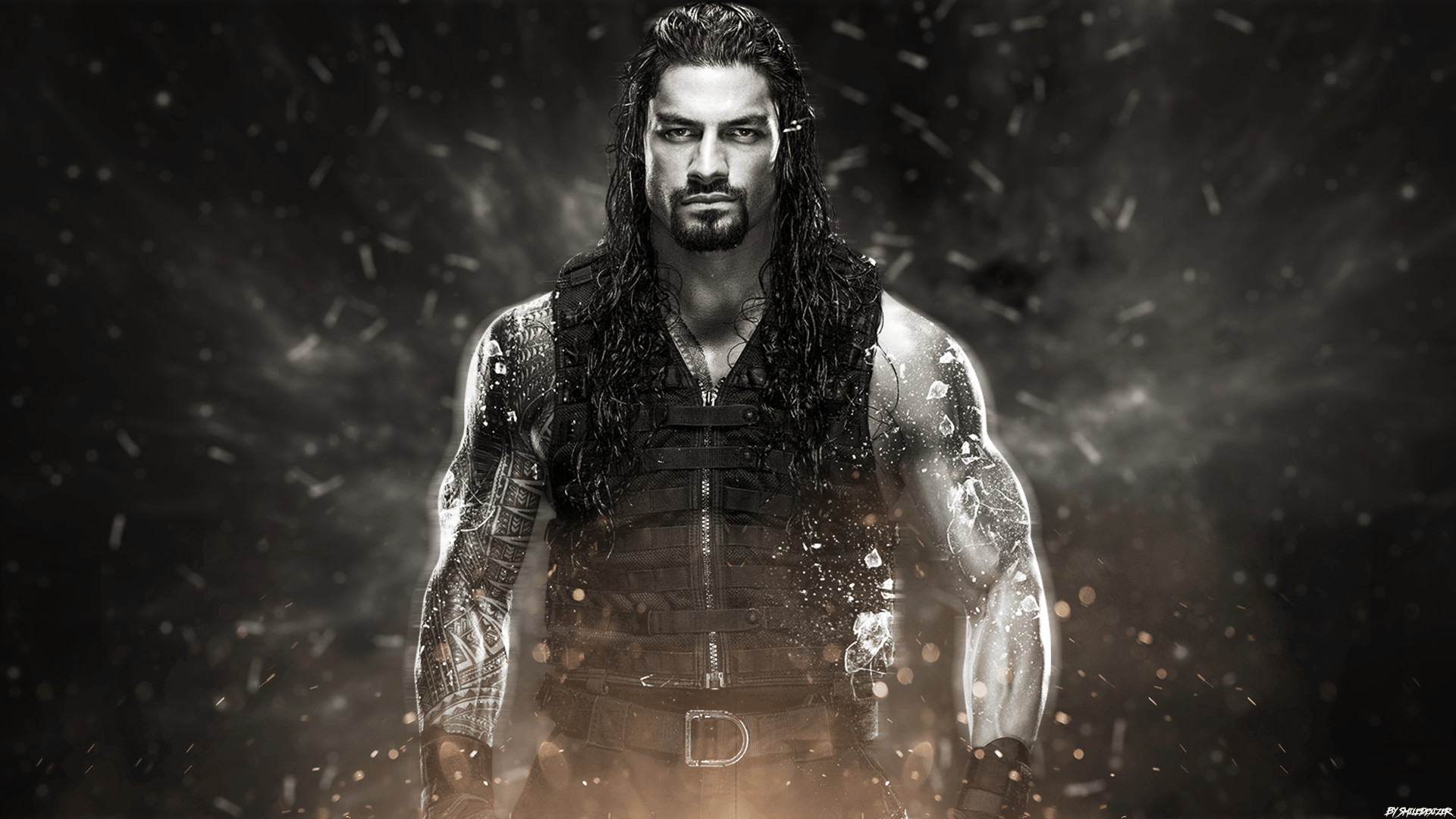 1920x1080 WWE Roman Reigns Wallpaper by Phenomenon-Des on DeviantArt