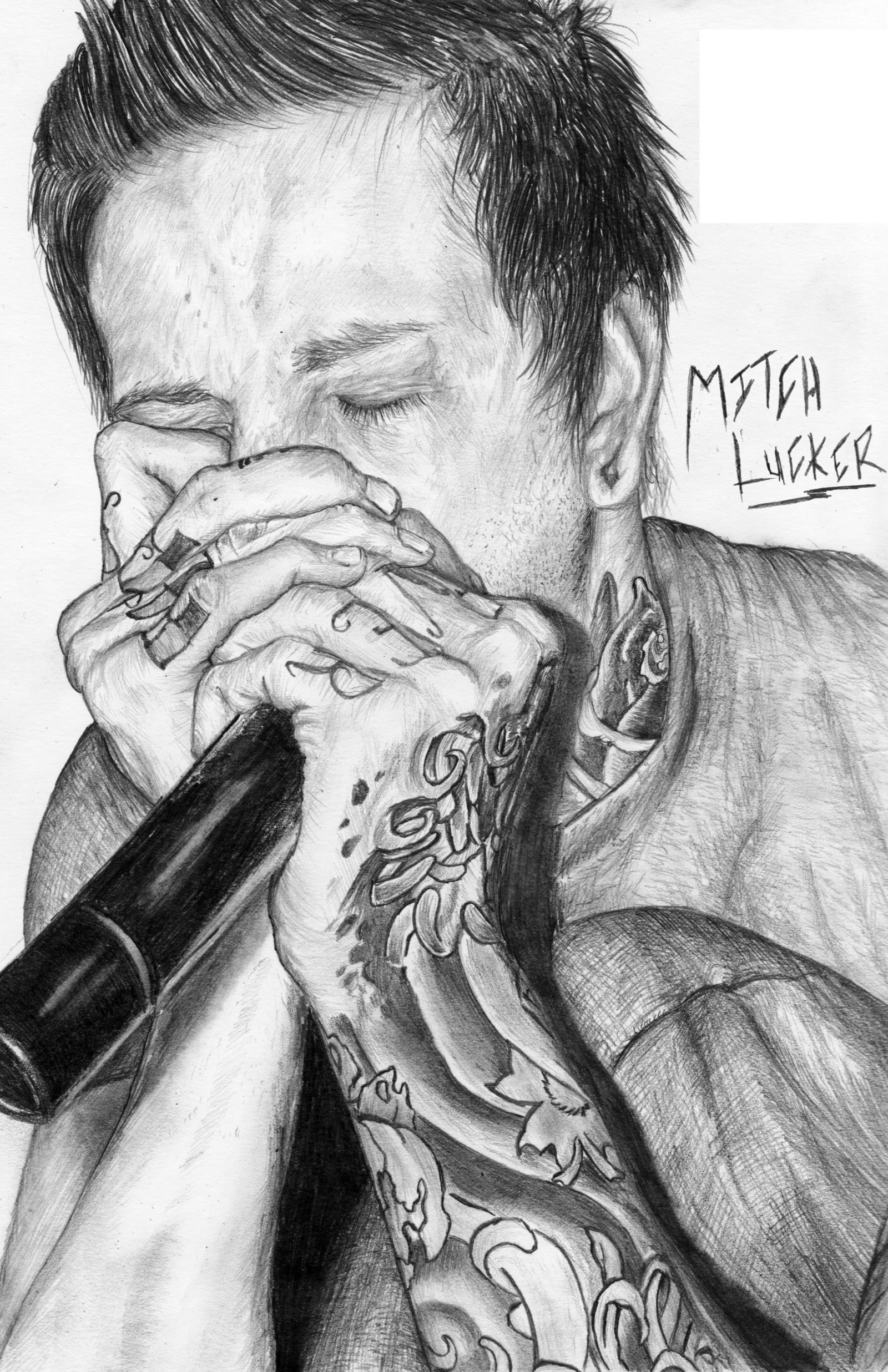 1600x2473 ... Mitch Lucker - Suicide Silence by JamieHargrave
