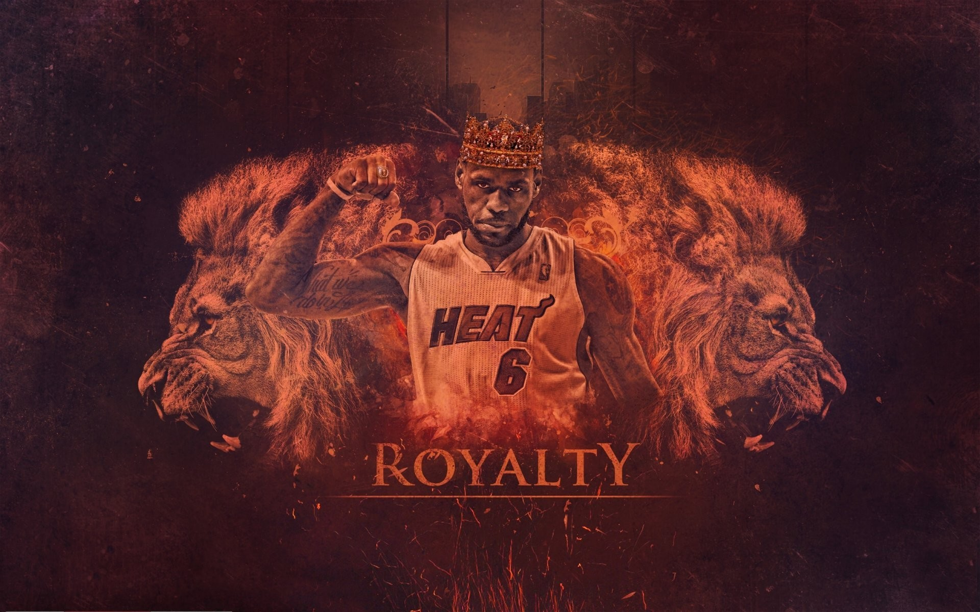 1920x1200 lebron james miami heat nba basketball lebron player lions