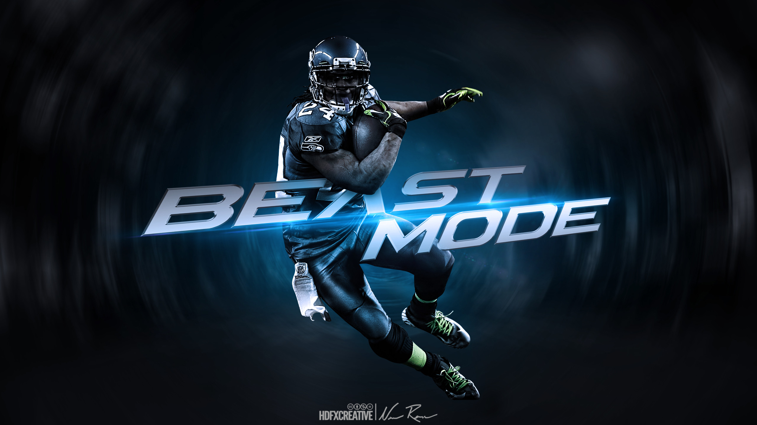 2560x1440 Marshawn Lynch
