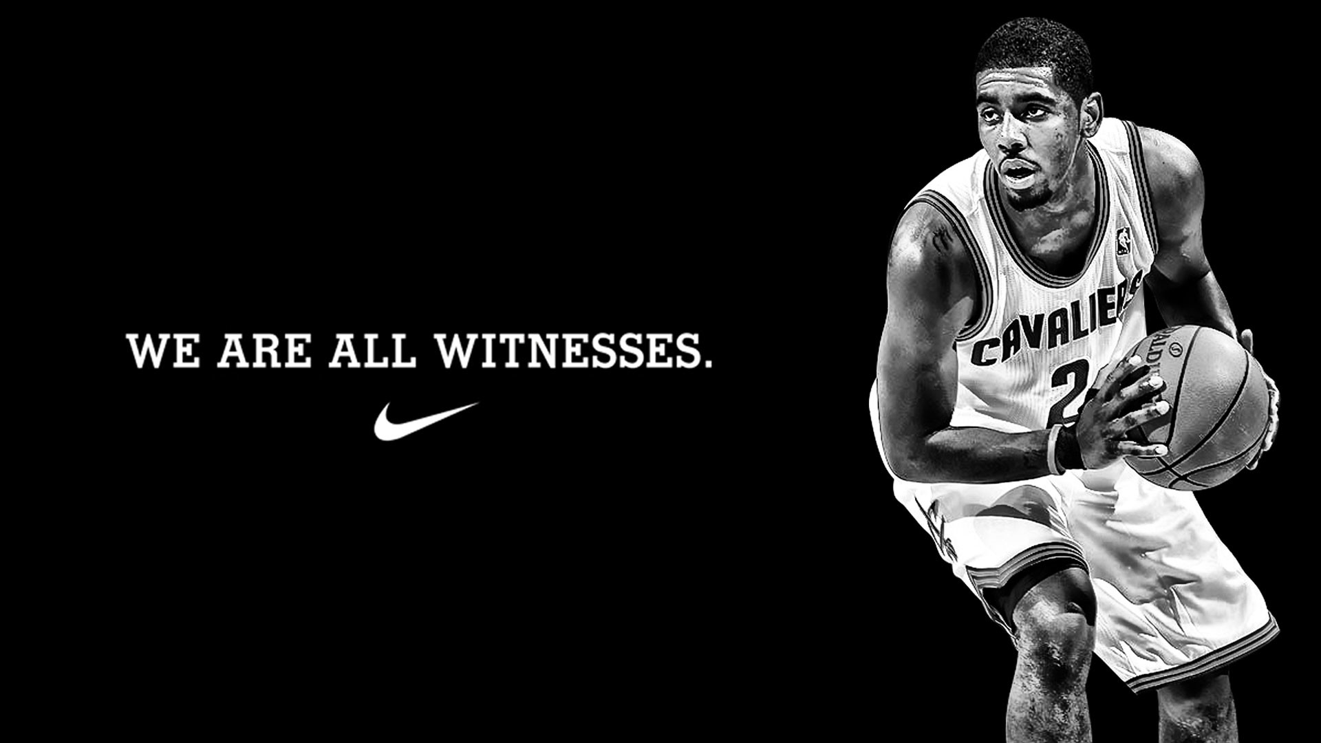 1920x1080 Kyrie Irving We Are All Witnesses Wallpaper