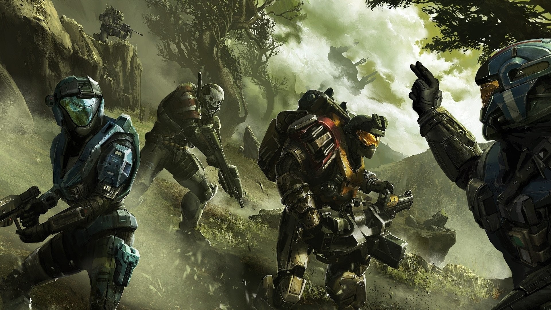 Halo Reach Wallpaper 81 Images