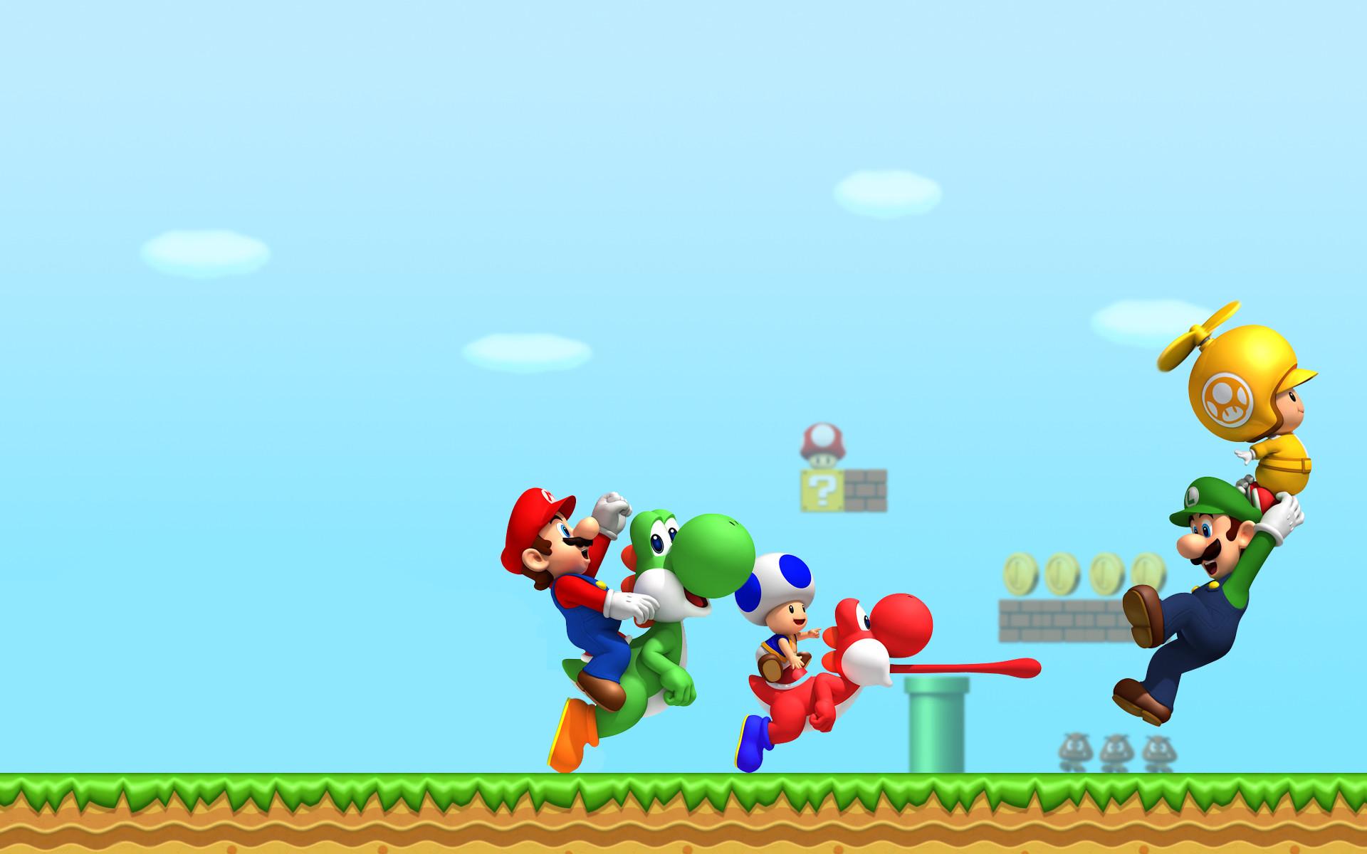 Mario Desktop Backgrounds: Mario Bros Wallpapers (70+ Images