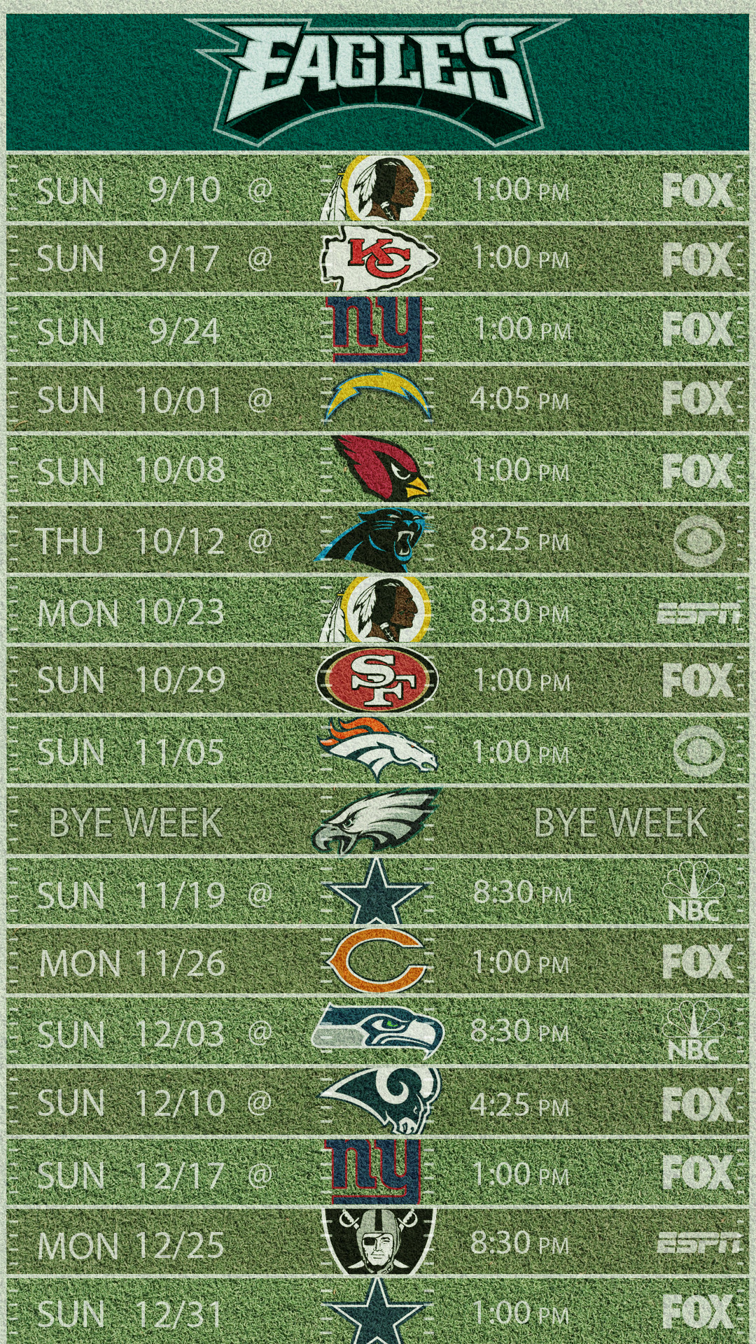 1080x1920 2017 phone schedule wallpaper ...
