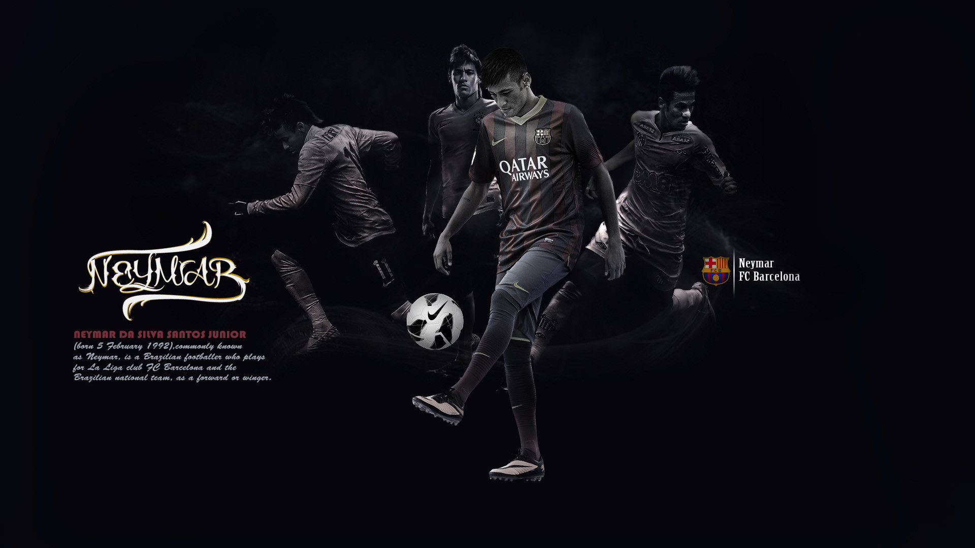 1920x1080 Lionel Messi FC Barcelona Wallpaper HD 2014 4