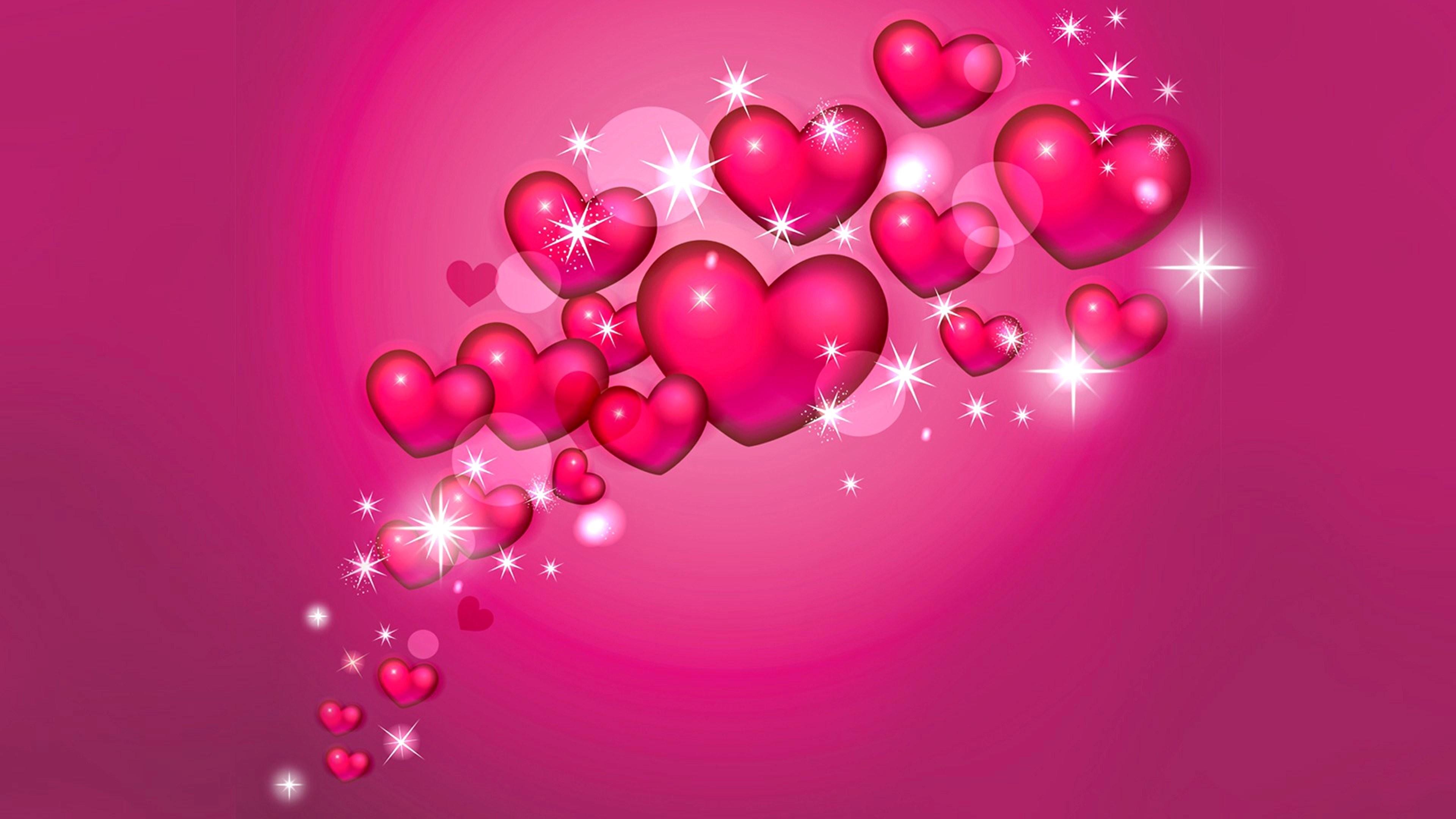 1920x1200 Hearts Smile Love Wallpaper