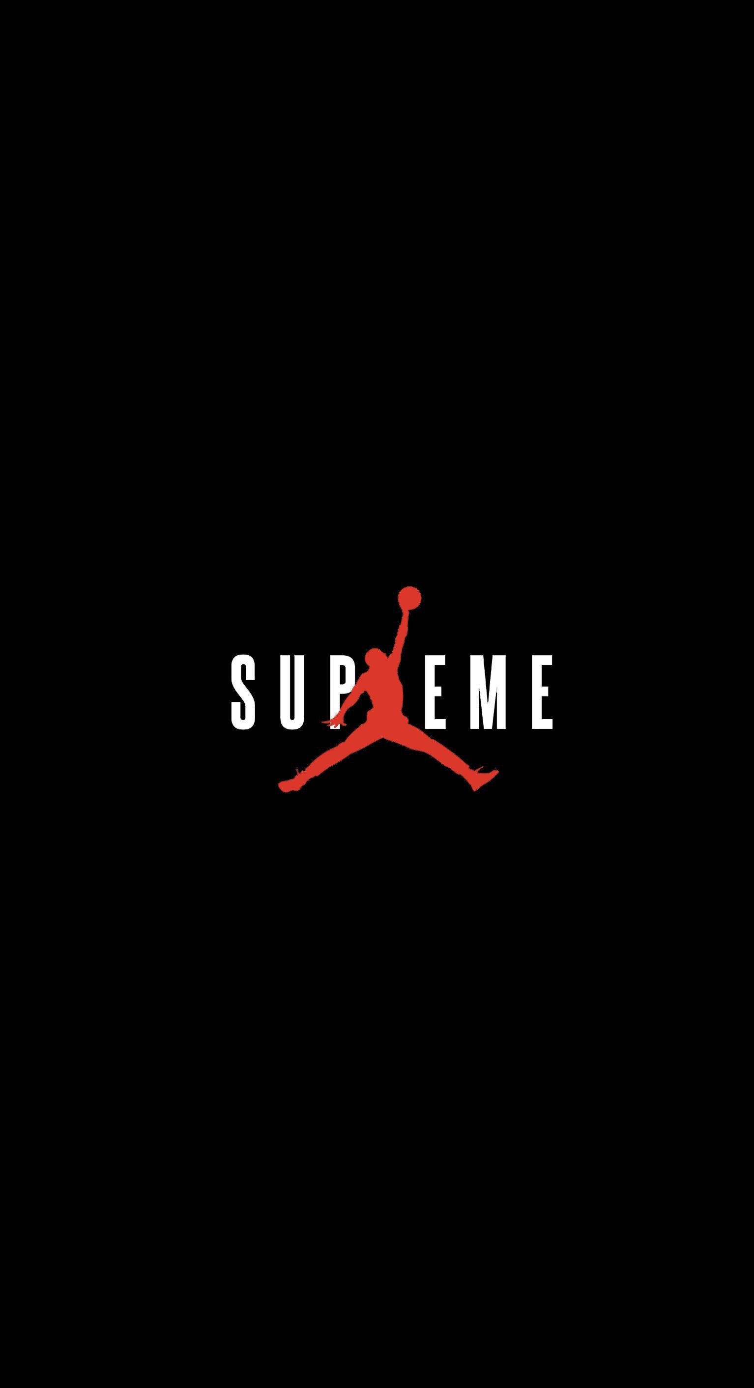 1534x2824 Supreme x Jordan Wallpaper : streetwear - Streetwear Wallpapers - Wallpaper  Zone