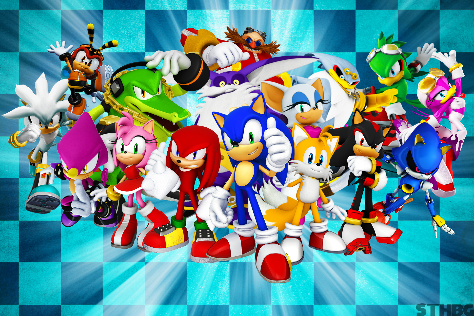 1920x1280 ... SonicTheHedgehogBG Sonic The Hedgehog And Friends Wallpaper by  SonicTheHedgehogBG