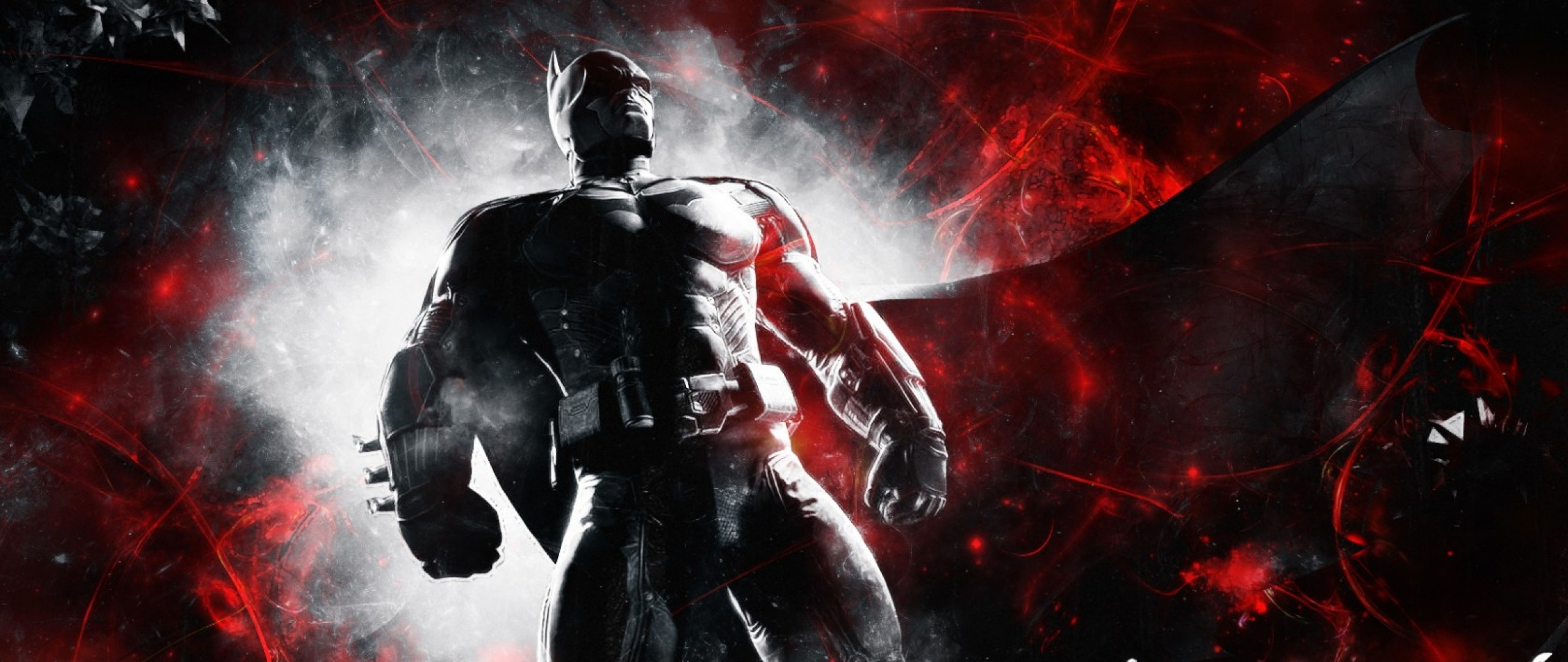 2560x1080 Preview wallpaper batman arkham origins, batman, bruce wayne