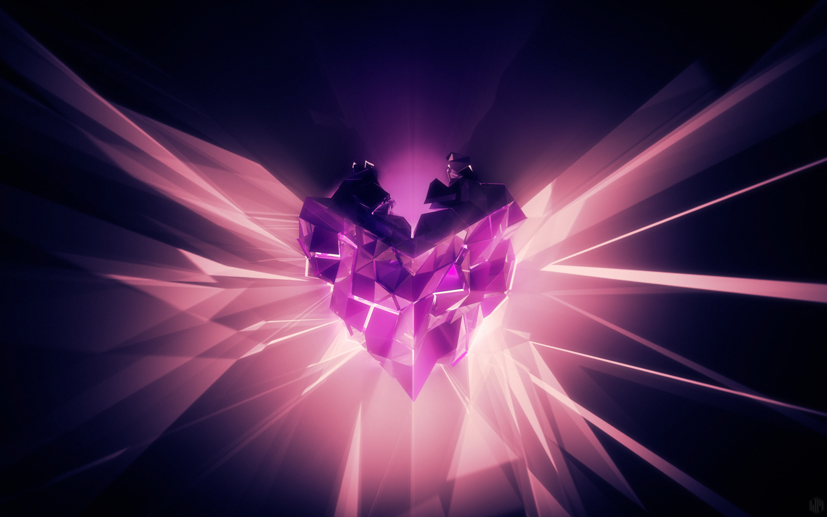858450 beautiful purple hearts backgrounds 2880x1800 cell phone