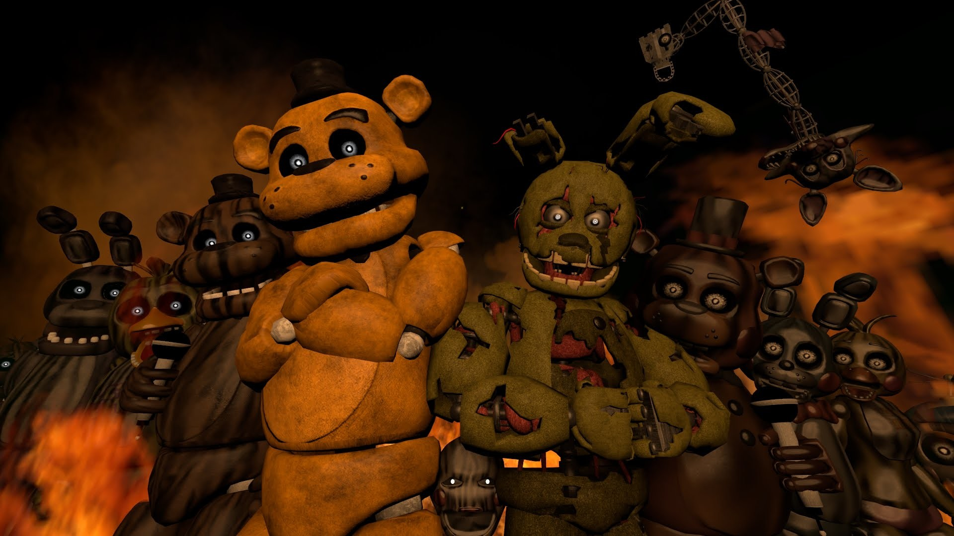 1920x1080 SFM/FNAF/Music] - Five Nights At Freddy's 3 Rap - - YouTube