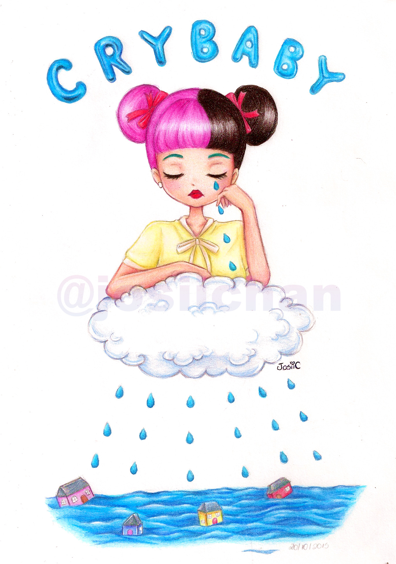 1369x1948 Melanie Martinez - Cry Baby by JosiiChan