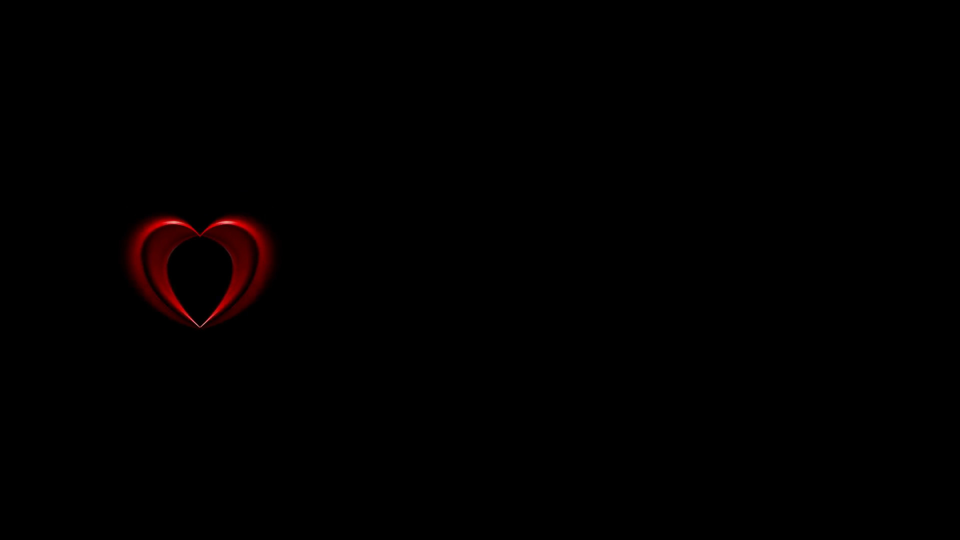 Red Heart Black Background 46 Images