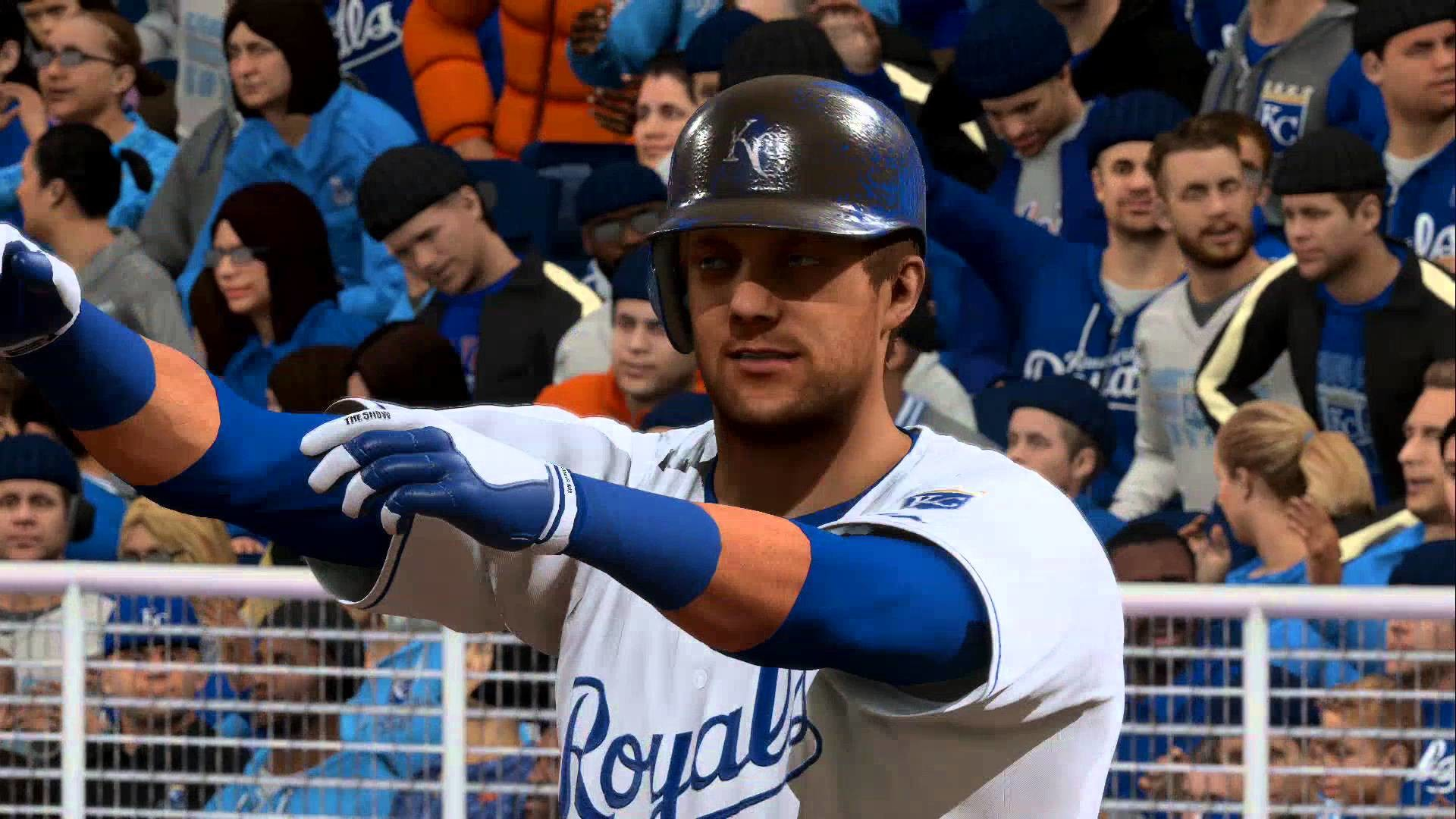 1920x1080 New York Mets vs Kansas city Royals - Opening Day World Series Rematch -  MLB The Show 16