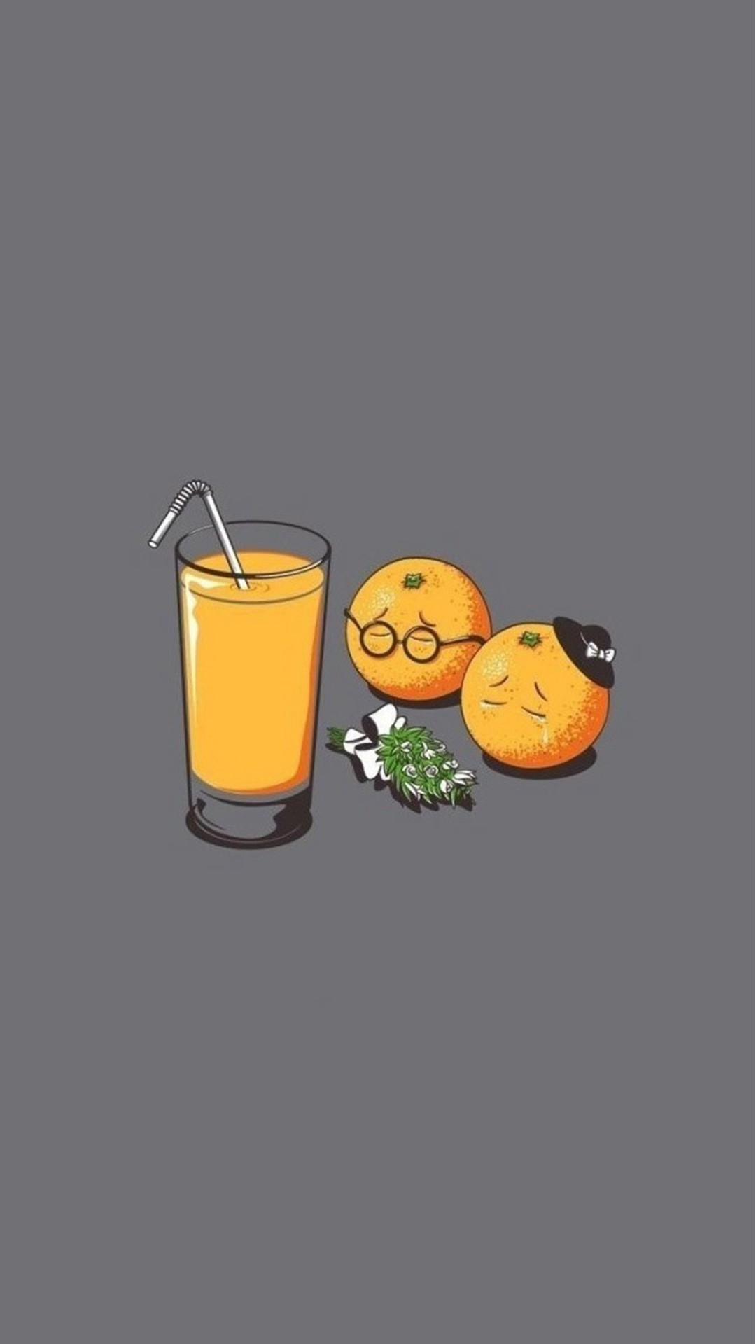 1080x1920 Orange Juice Funeral Funny #iPhone #6 #plus #wallpaper