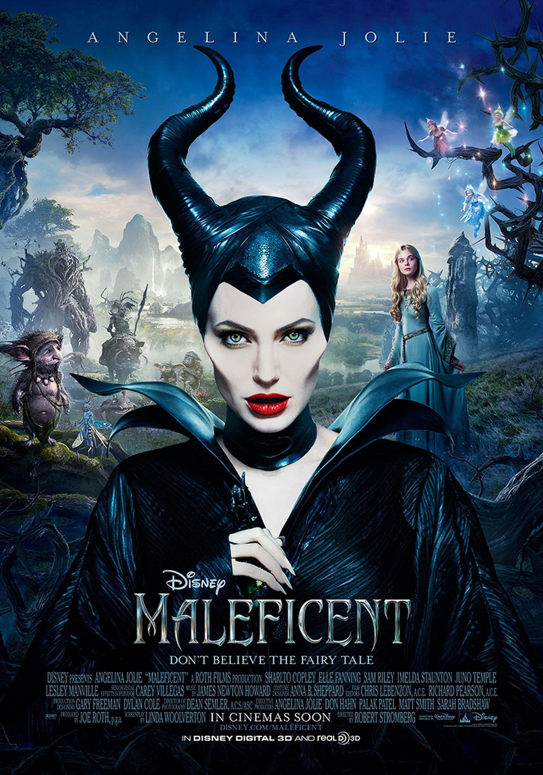 1920x1080 Maleficent Costume Pattern