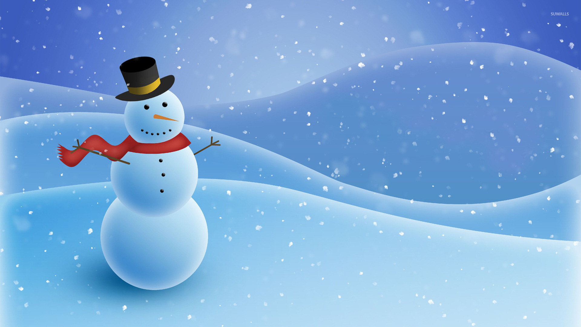 1920x1080 Snowman [3] wallpaper - Holiday wallpapers - #23584