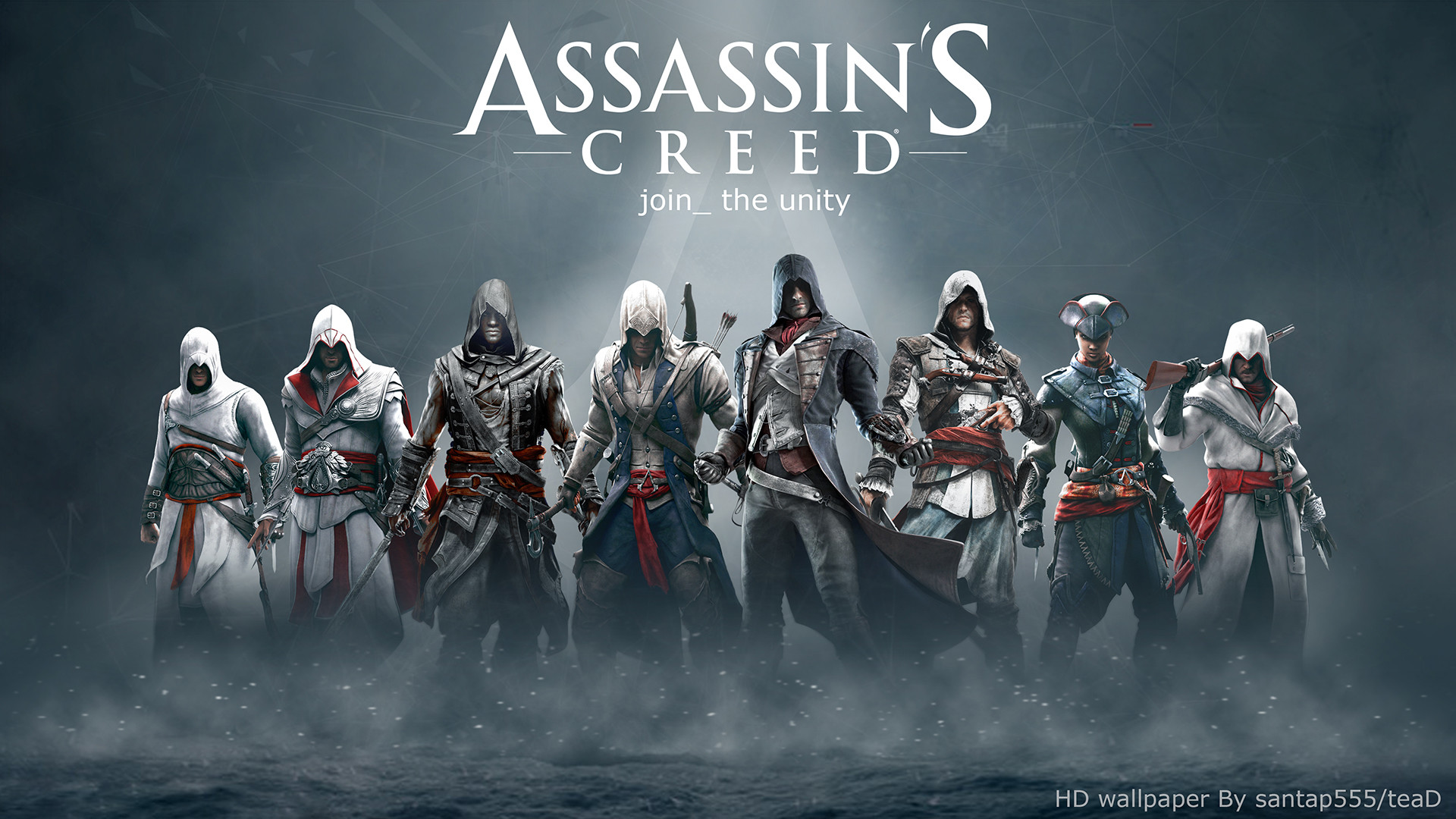 1920x1080 ... Assassin's Creed HD wallpaper by teaD by santap555