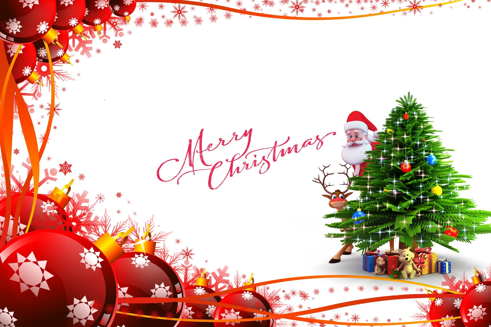 1920x1280 Merry Christmas HD Wallpaper.