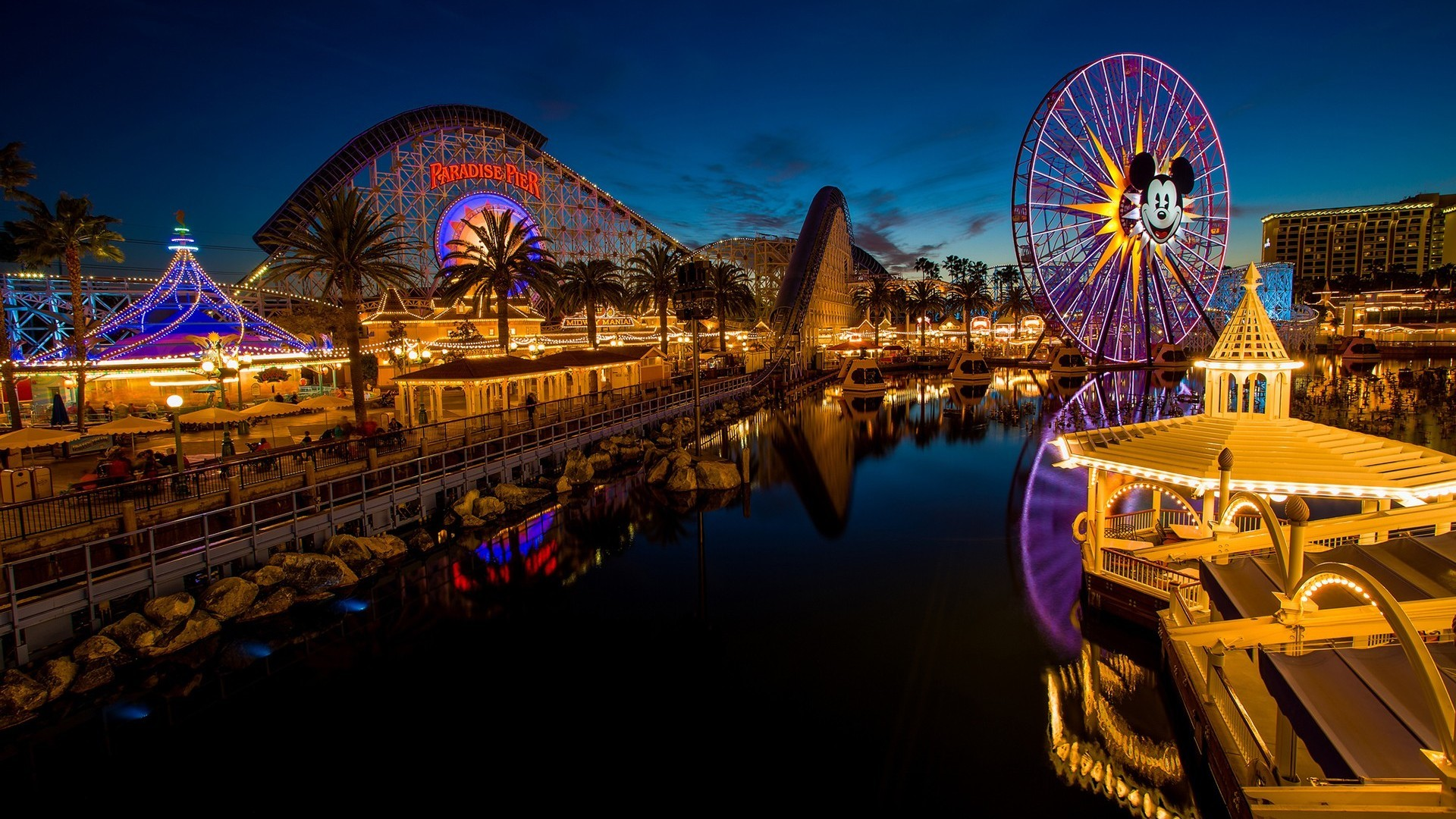 1920x1080 beautiful disneyland hd free wallpapers
