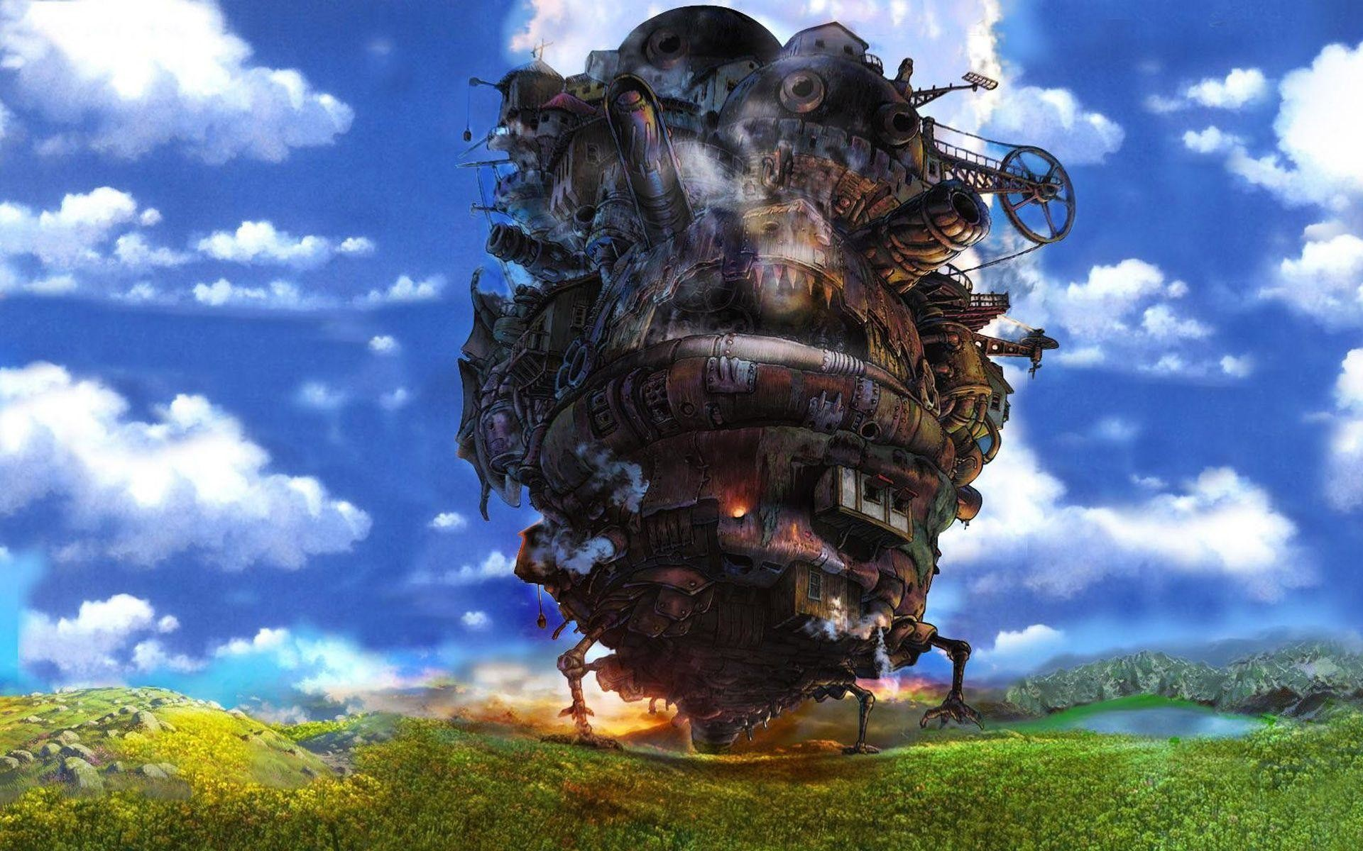 1920x1200 51 <b>Howl's Moving Castle</b> HD <b>Wallpapers