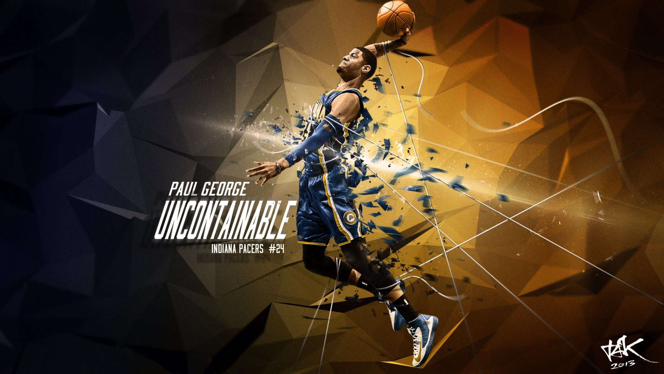 2133x1200 paul george indiana pacers basketball sports nba