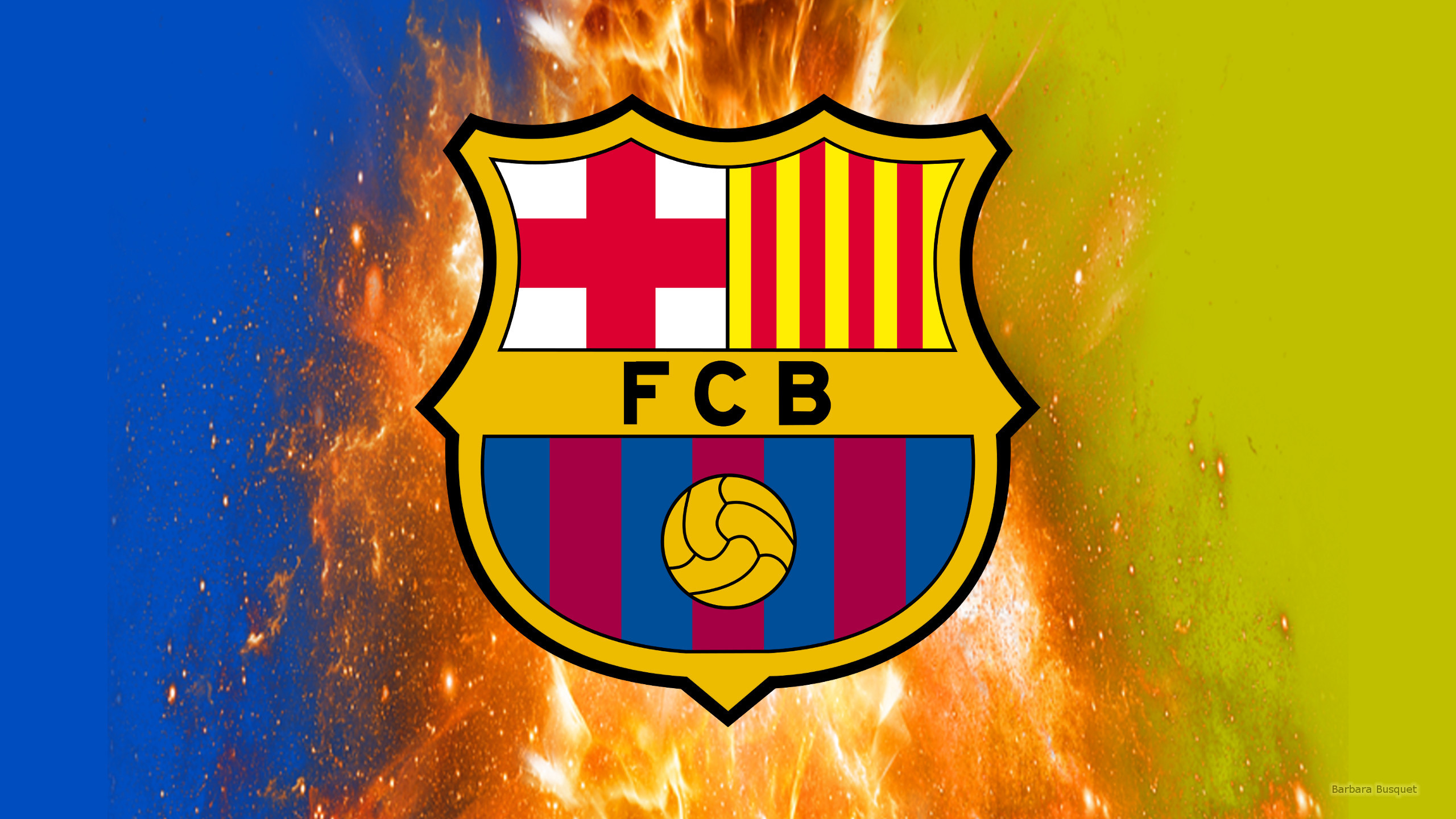 2560x1440 FC Barcelona Wallpapers