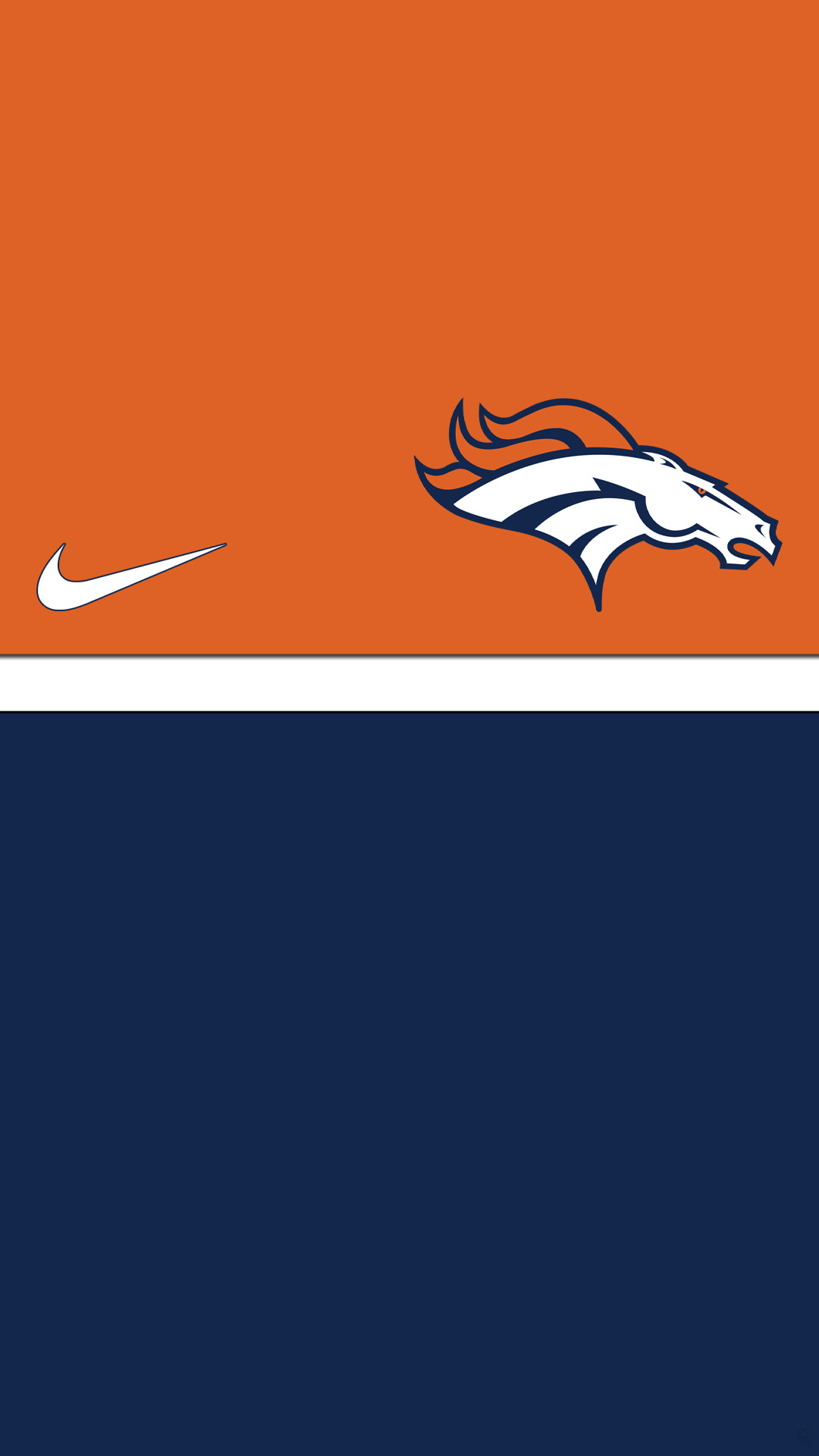 1080x1920 denver broncos nike image for iphone