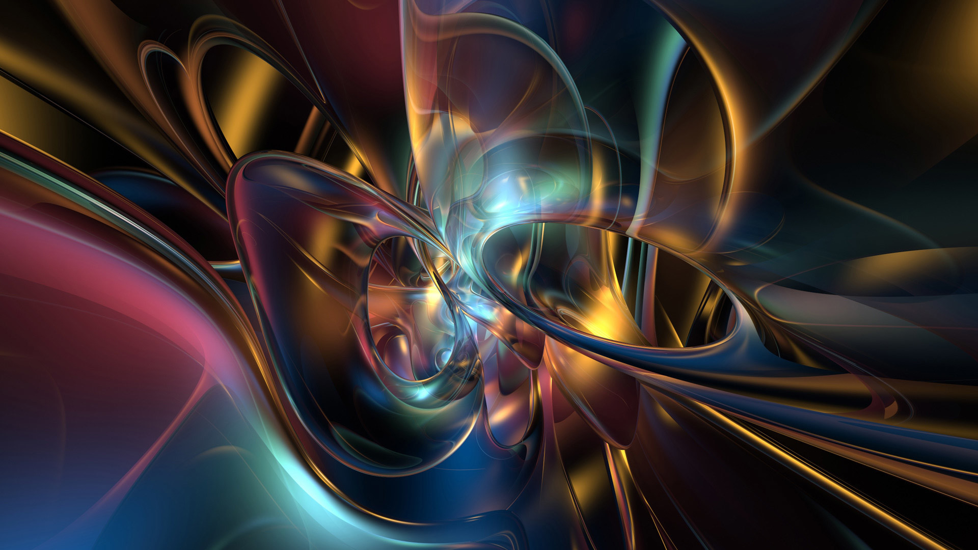 1920x1080 Awesome Abstract Trash Art Pattern Hd Wallpaper