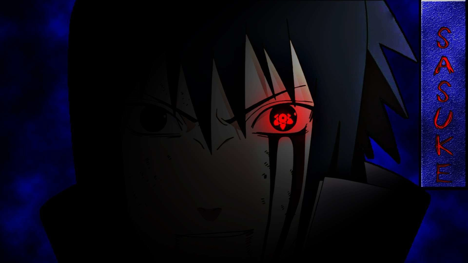 1920x1080 Sasuke Uchiha Sharingan Wallpapers Wallpaper
