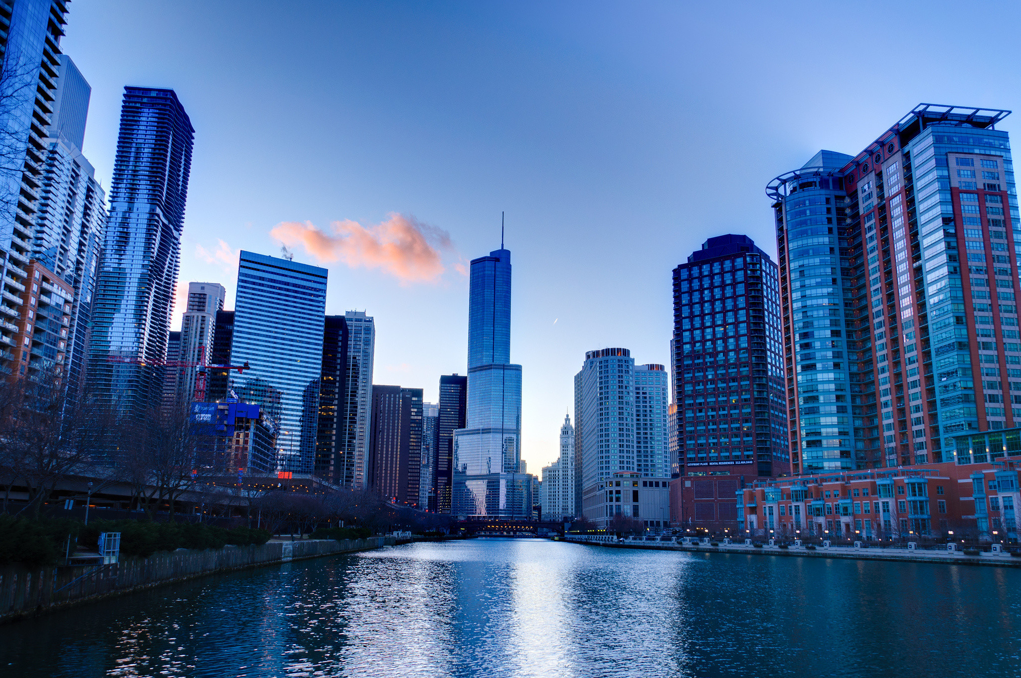 2048x1360 HD Wallpaper | Background ID:423653.  Man Made Chicago