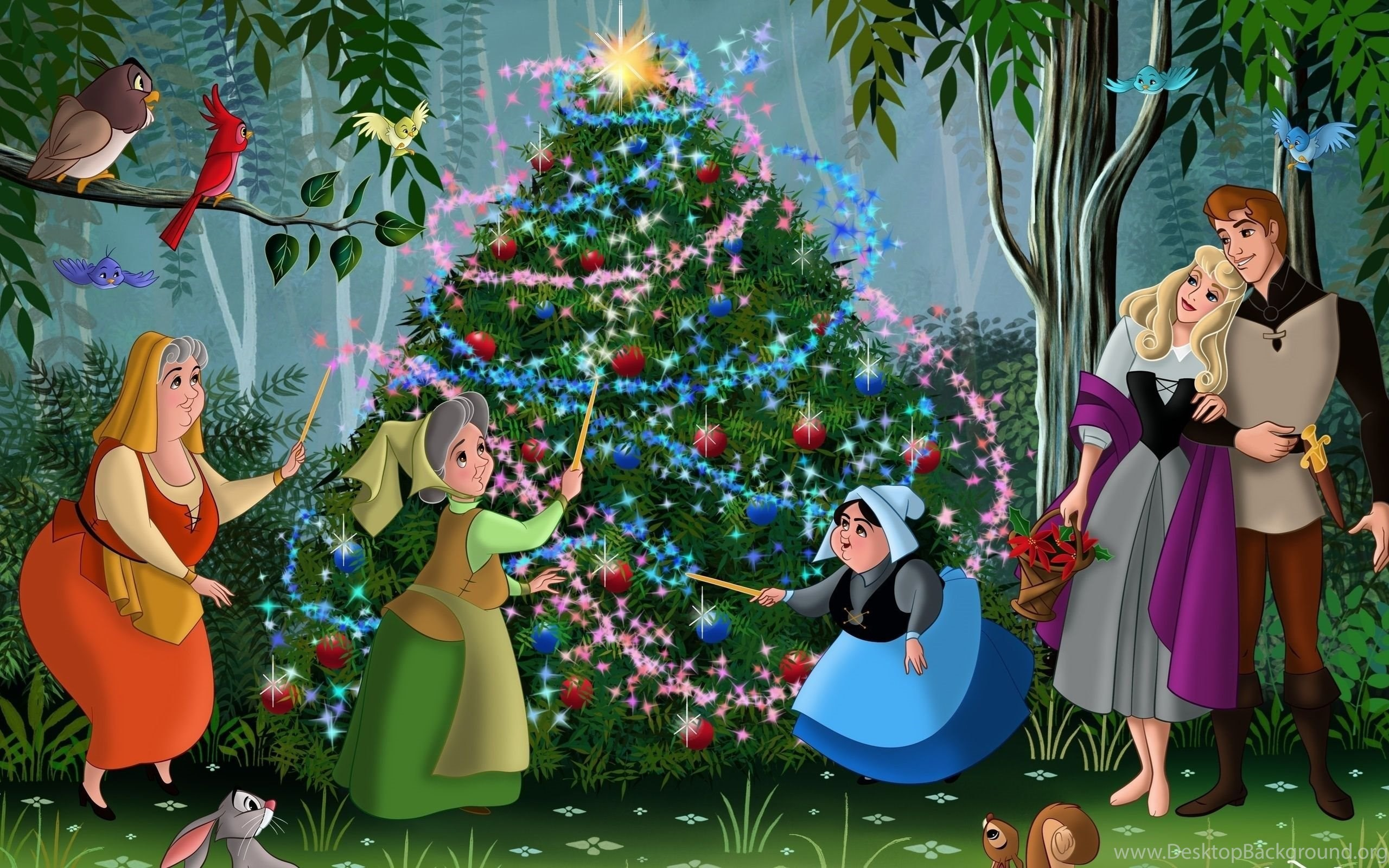 Disney Christmas Backgrounds 75 Images