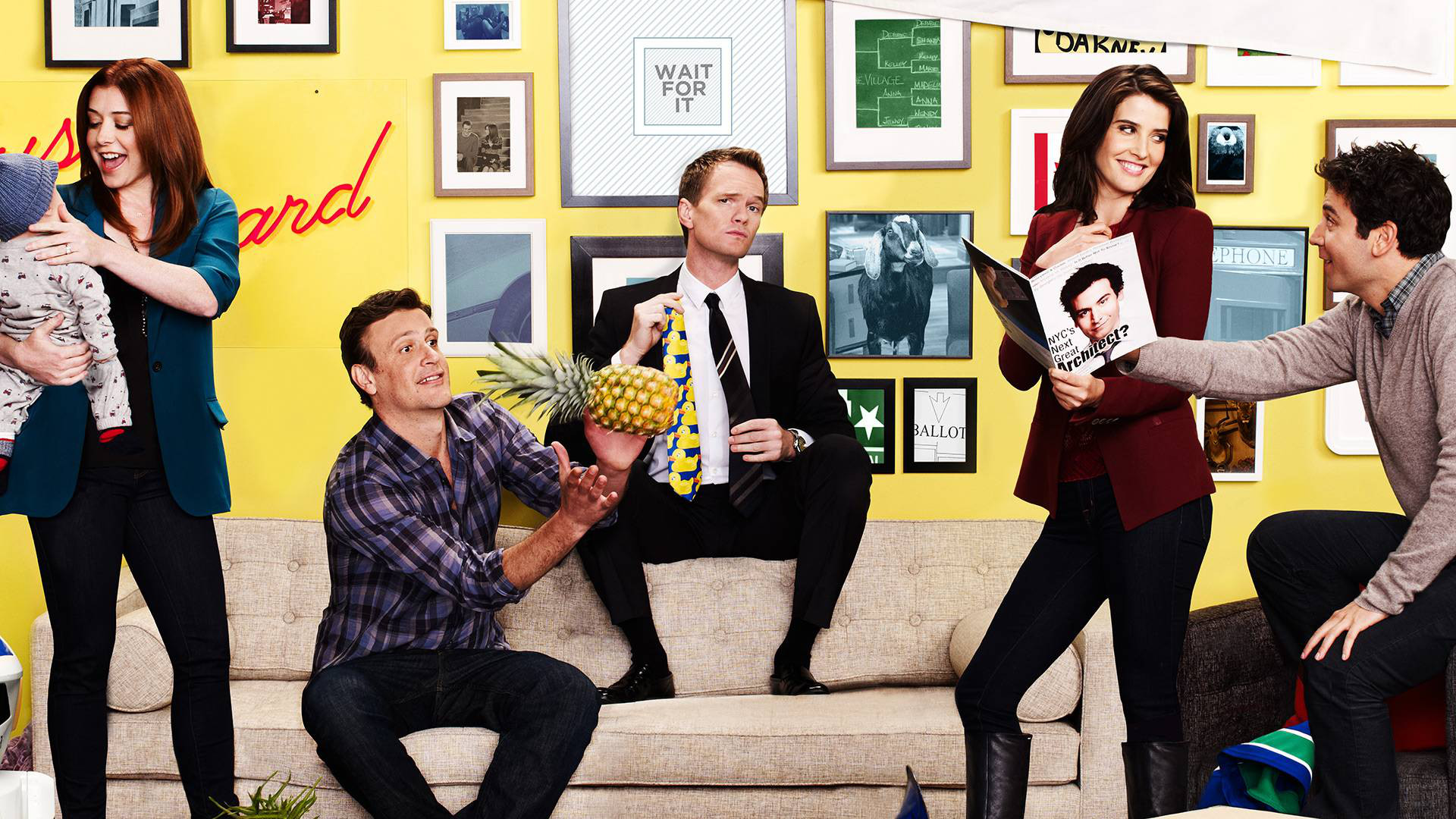 1920x1080 TV Show - How I Met Your Mother Barney Stinson Alyson Hannigan Lily Aldrin  Jason Segel