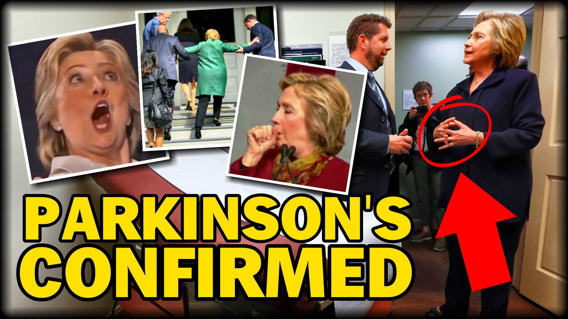 1920x1080 EXCLUSIVE REPORT: HILLARY CLINTON HAS PARKINSON'S DISEASE, DOCTOR CONFIRMS  - YouTube