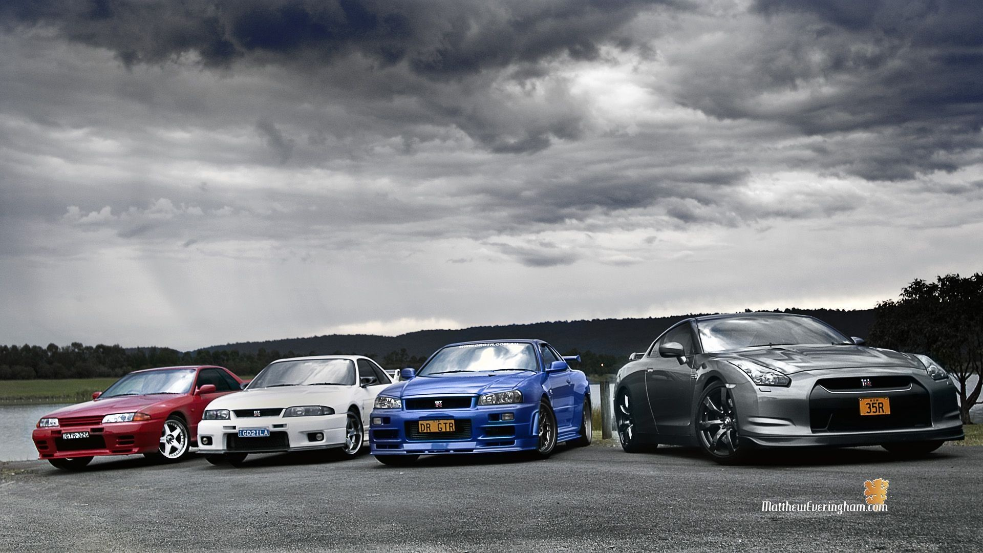1920x1080 high resolution wallpapers widescreen nissan skyline gtr by Stanton Black