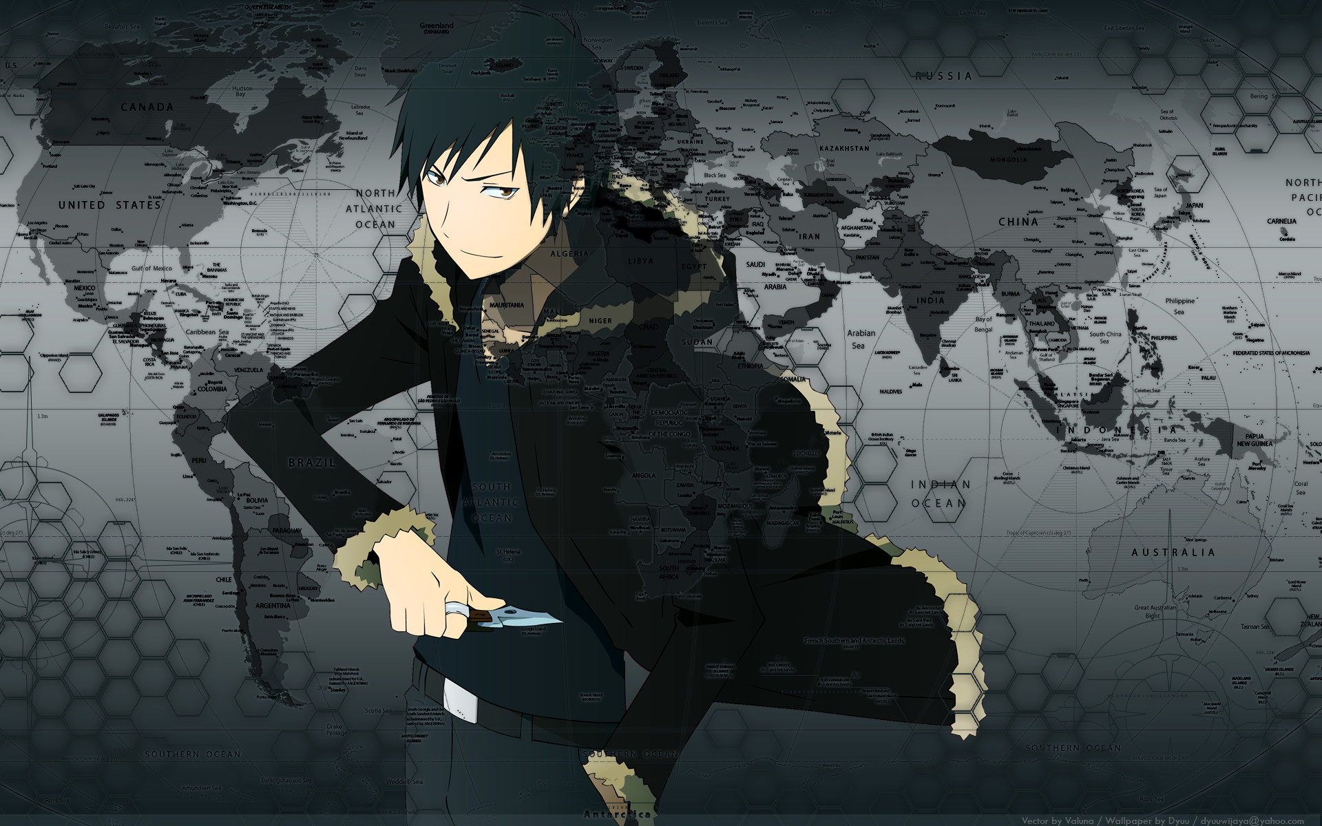 1920x1200 Durarara!! images Izaya HD wallpaper and background photos